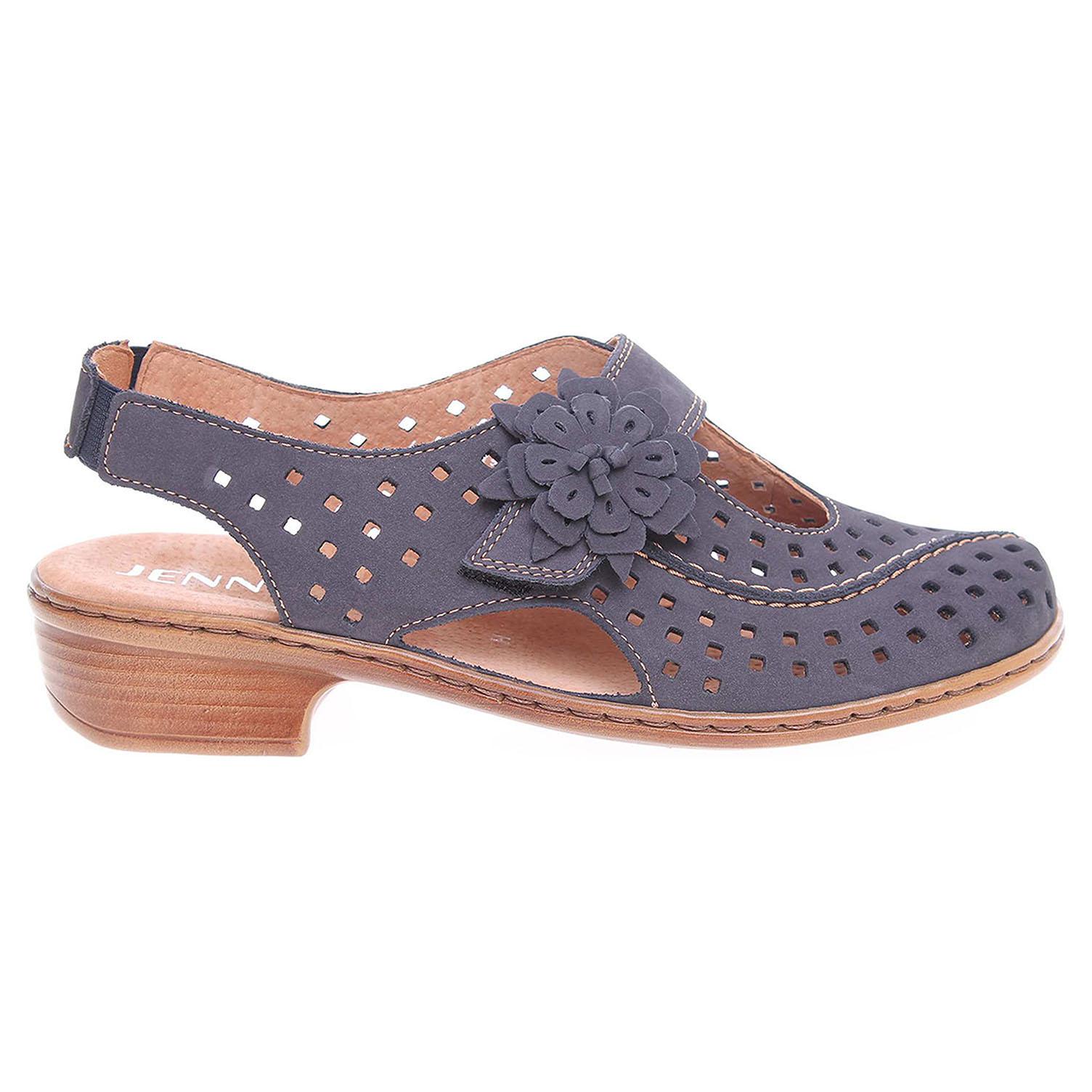Ecco Ara dámské sandály 52706-10 modré 23801203
