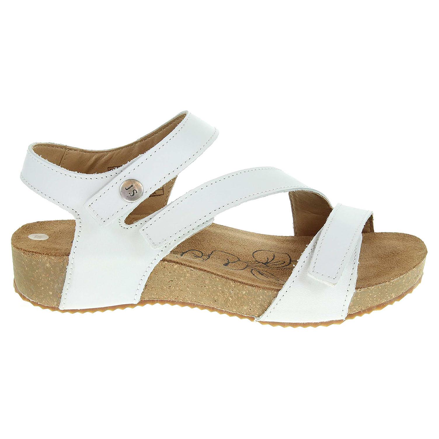 Ecco Josef Seibel dámské sandály 78519 43800 bílé 23801209 1be64a12ae