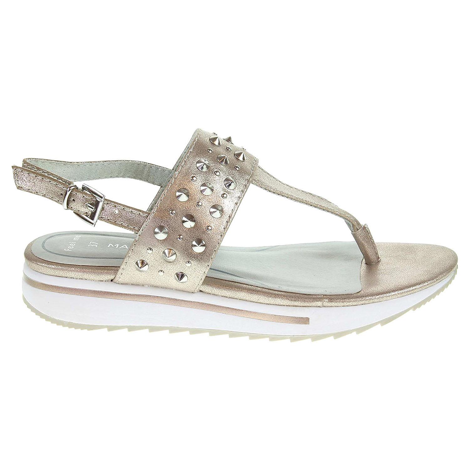 Ecco Marco Tozzi dámské sandály 2-28720-28 růžové 23801214