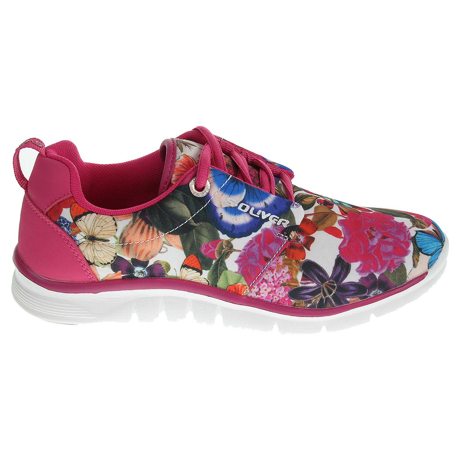s.Oliver dámská obuv 5-23616-34 růžová 38