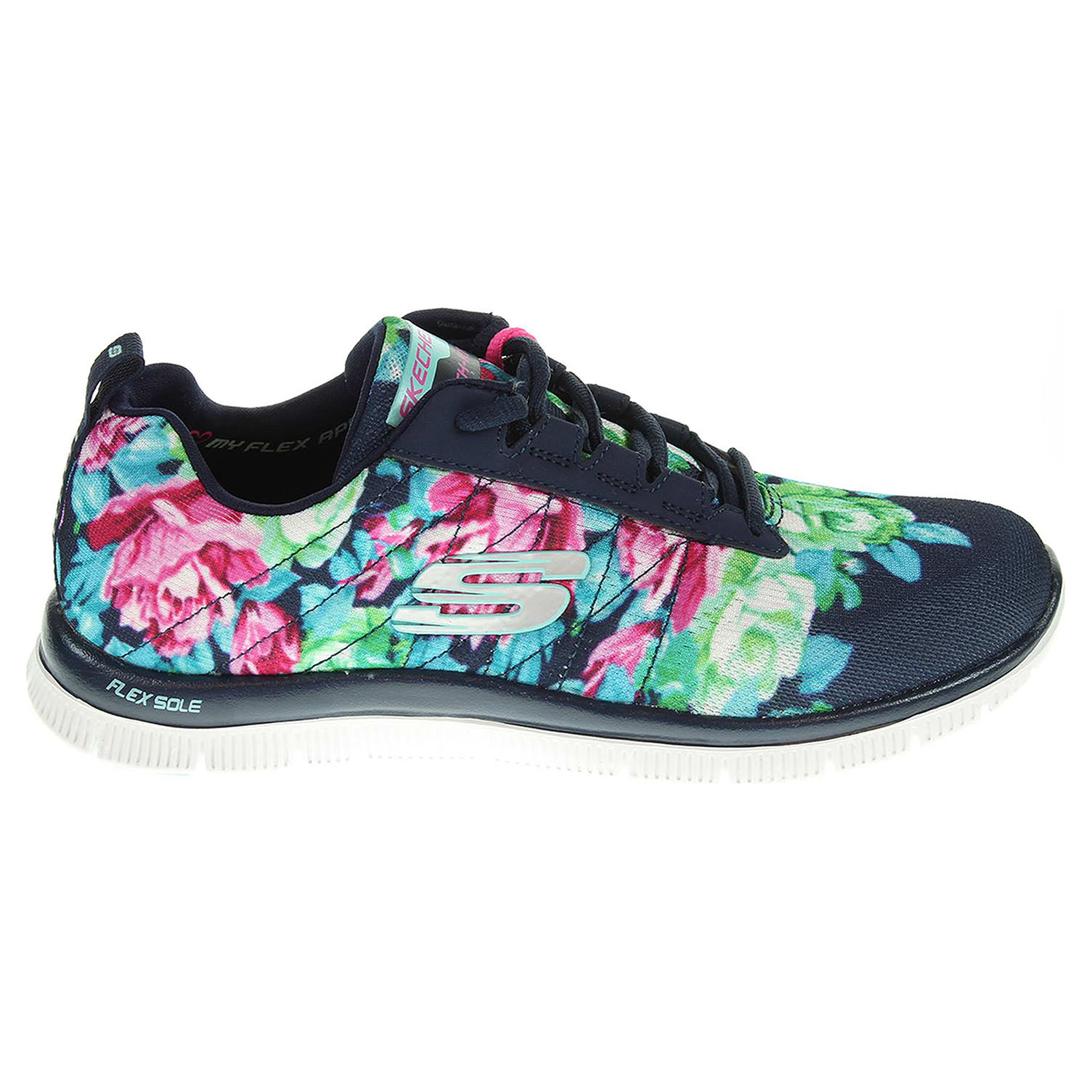Skechers Wildflowers navy-multi 40