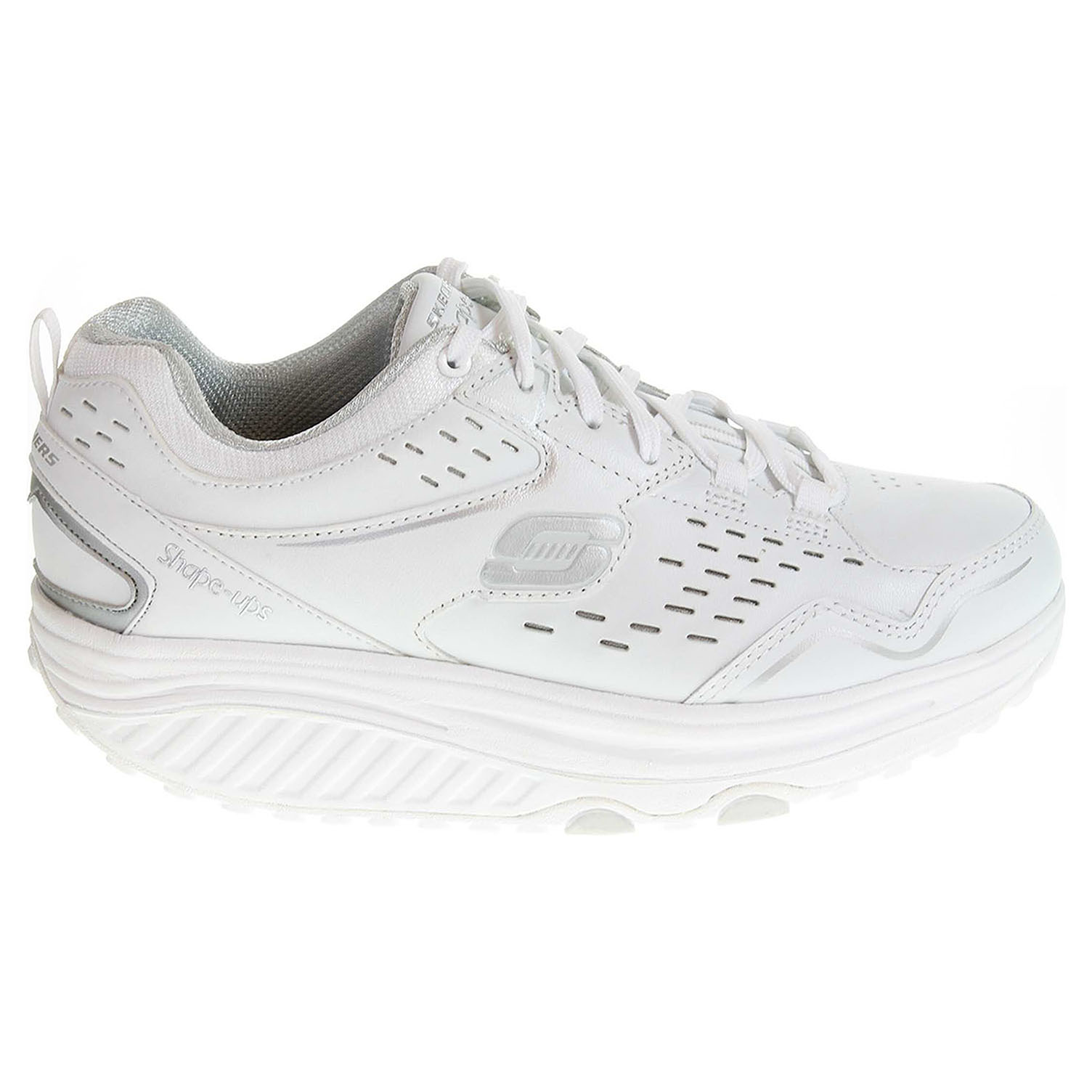 Skechers Perfect Comfort white-silver 37