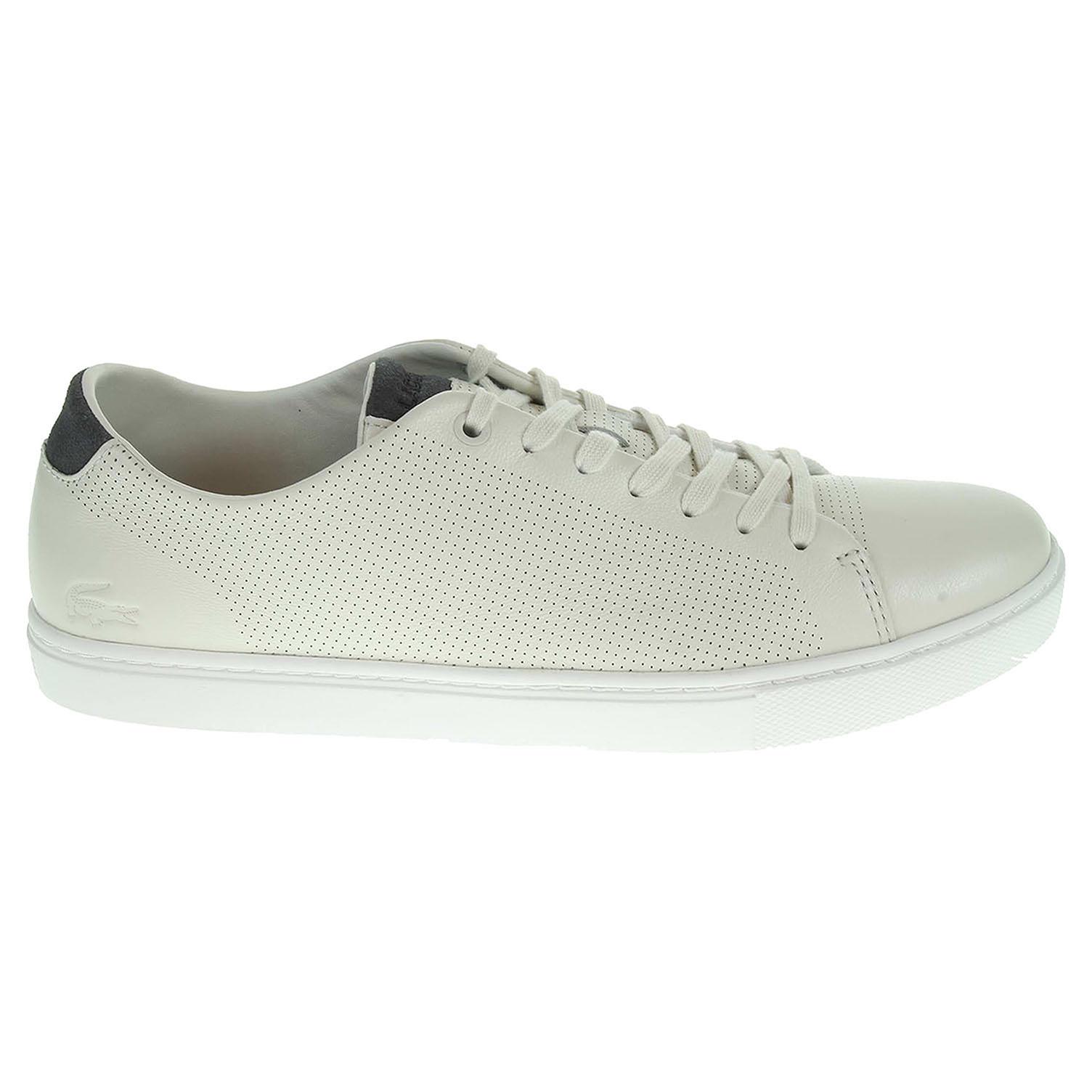 Lacoste Showcourt pánská obuv béžová 43 béžová béžová