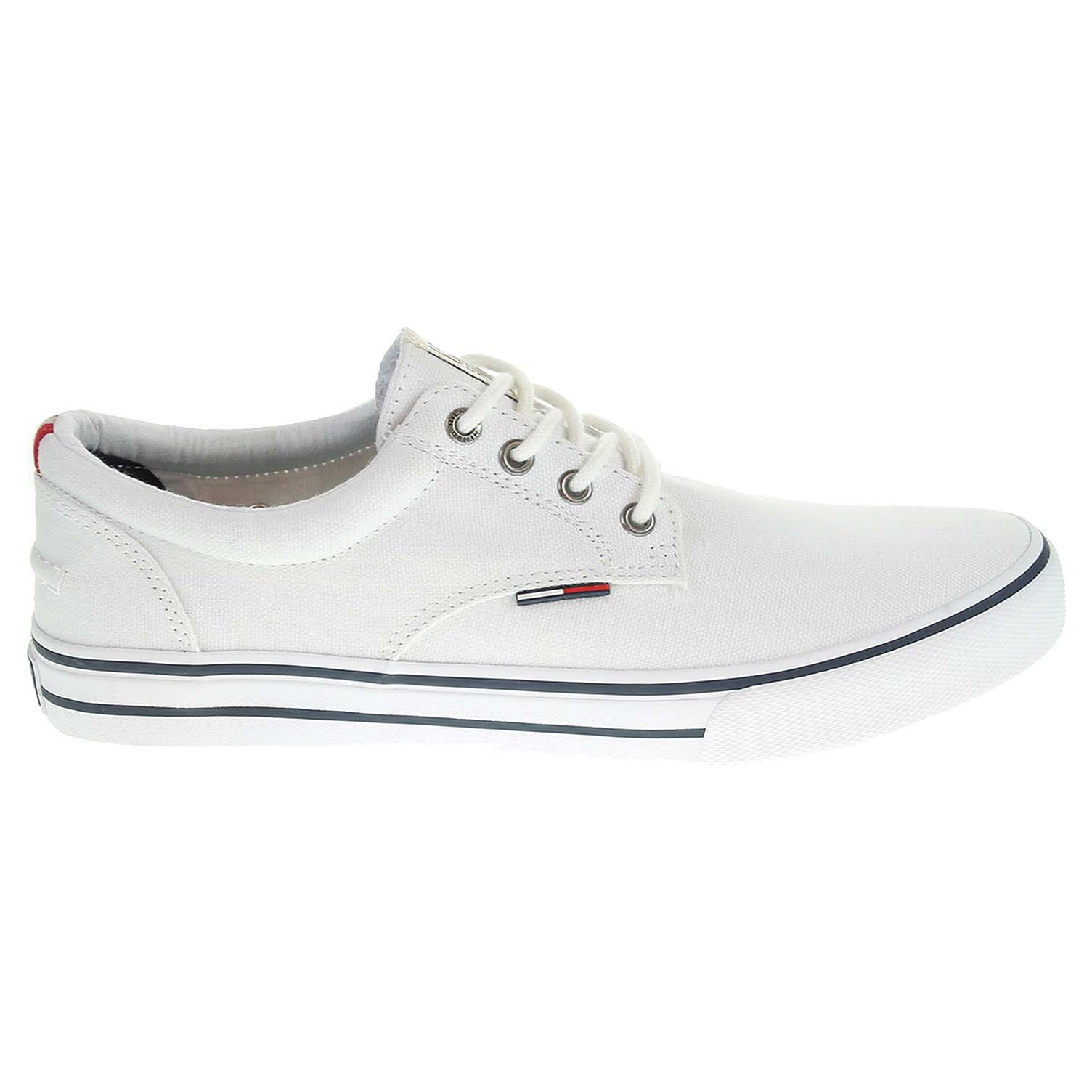Tommy Hilfiger pánská obuv EM56820815 V2385IC 1D 1 bílá 44