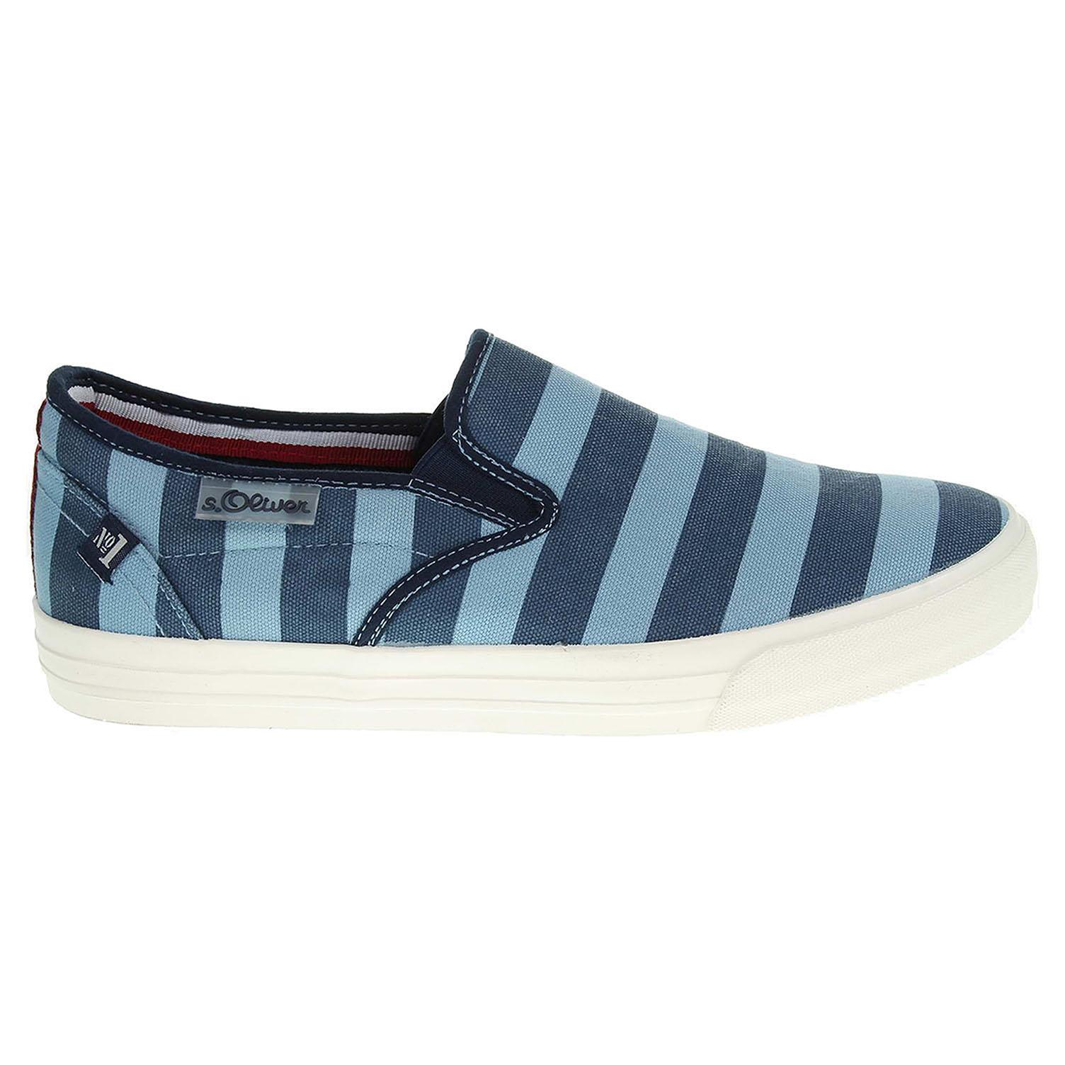 Ecco s.Oliver pánská obuv 5-14605-36 modrá 24000392
