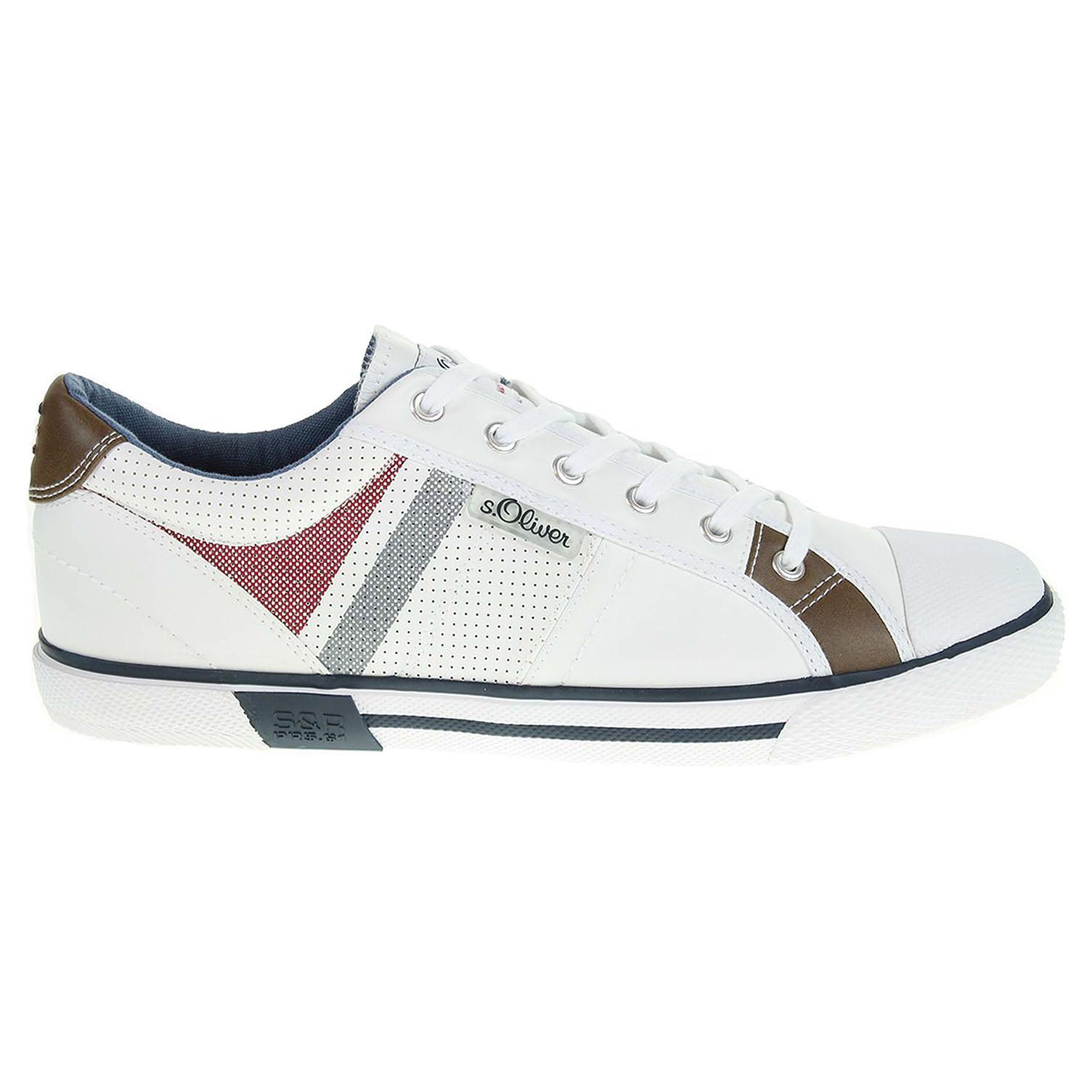 Ecco s.Oliver pánská obuv 5-13622-38 bílá 24000411