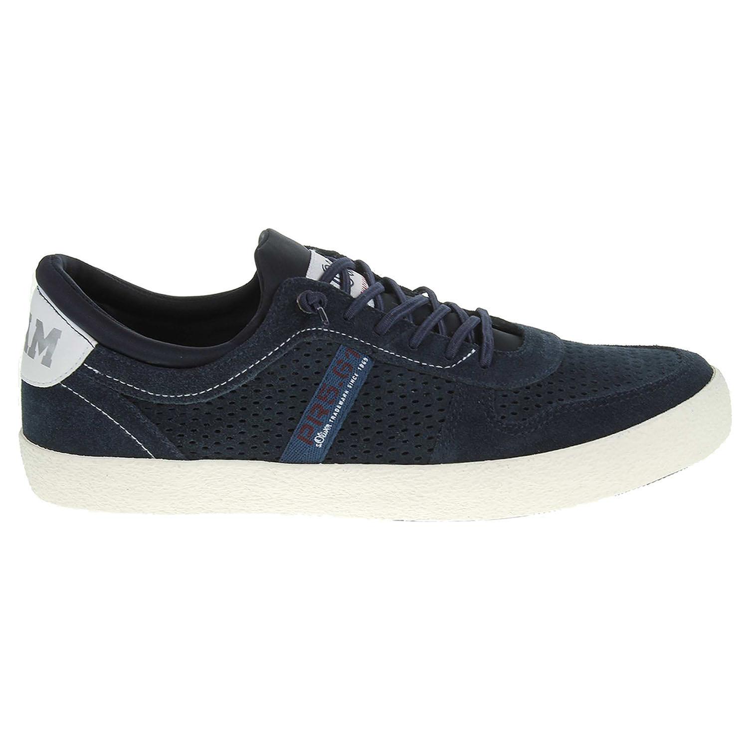 Ecco s.Oliver pánská obuv 5-13640-38 modrá 24000426