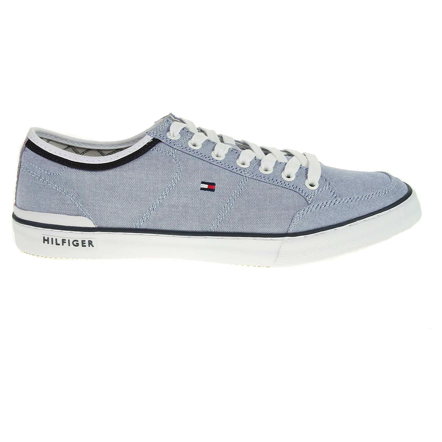 Ecco Tommy Hilfiger pánská obuv FM0FM00401 h2285arrington 5d1 modrá 24000432