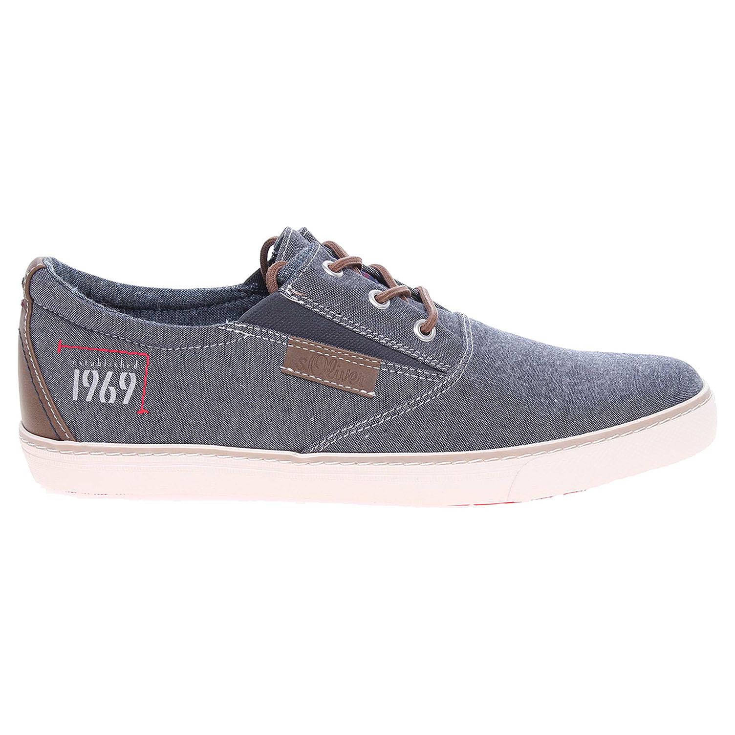 Ecco s.Oliver pánská obuv 5-13613-28 modrá 24000437