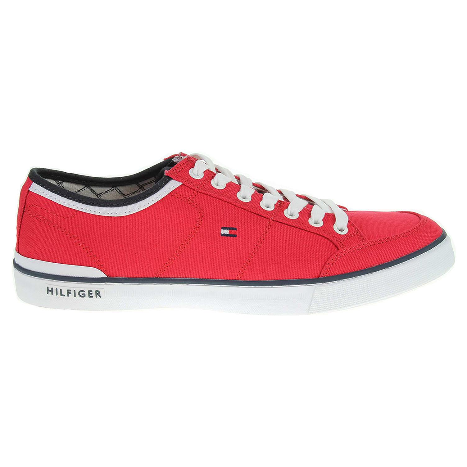 Ecco Tommy Hilfiger pánská obuv FM0FM00543 H2285ARRINGTON 5D2 červená 24000445