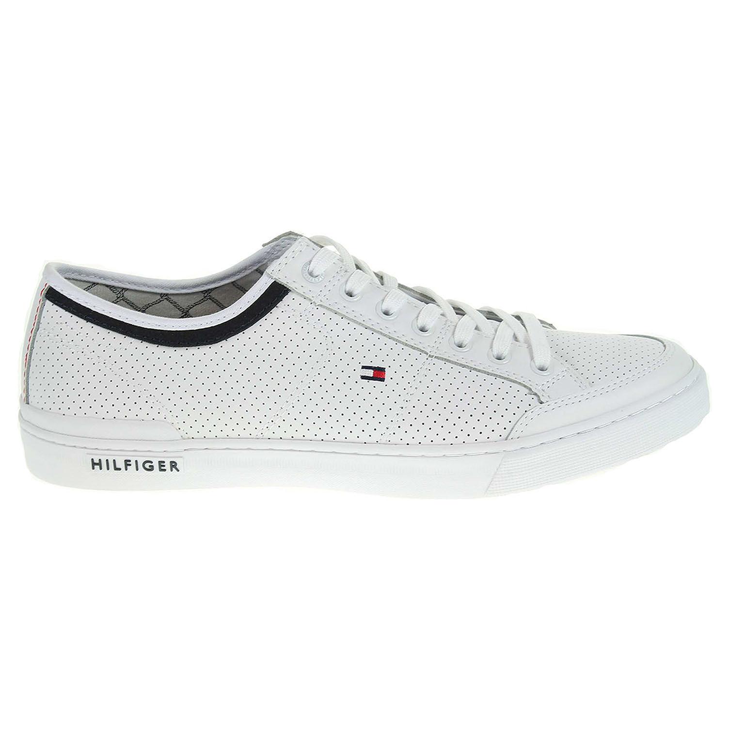 Ecco Tommy Hilfiger pánská obuv FM0FM00552 H2285ARRINGTON 5A bílá 24000446