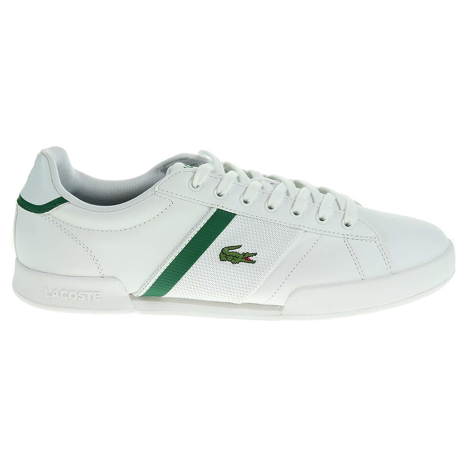 Ecco Lacoste Deston pánská obuv bílá 24000452