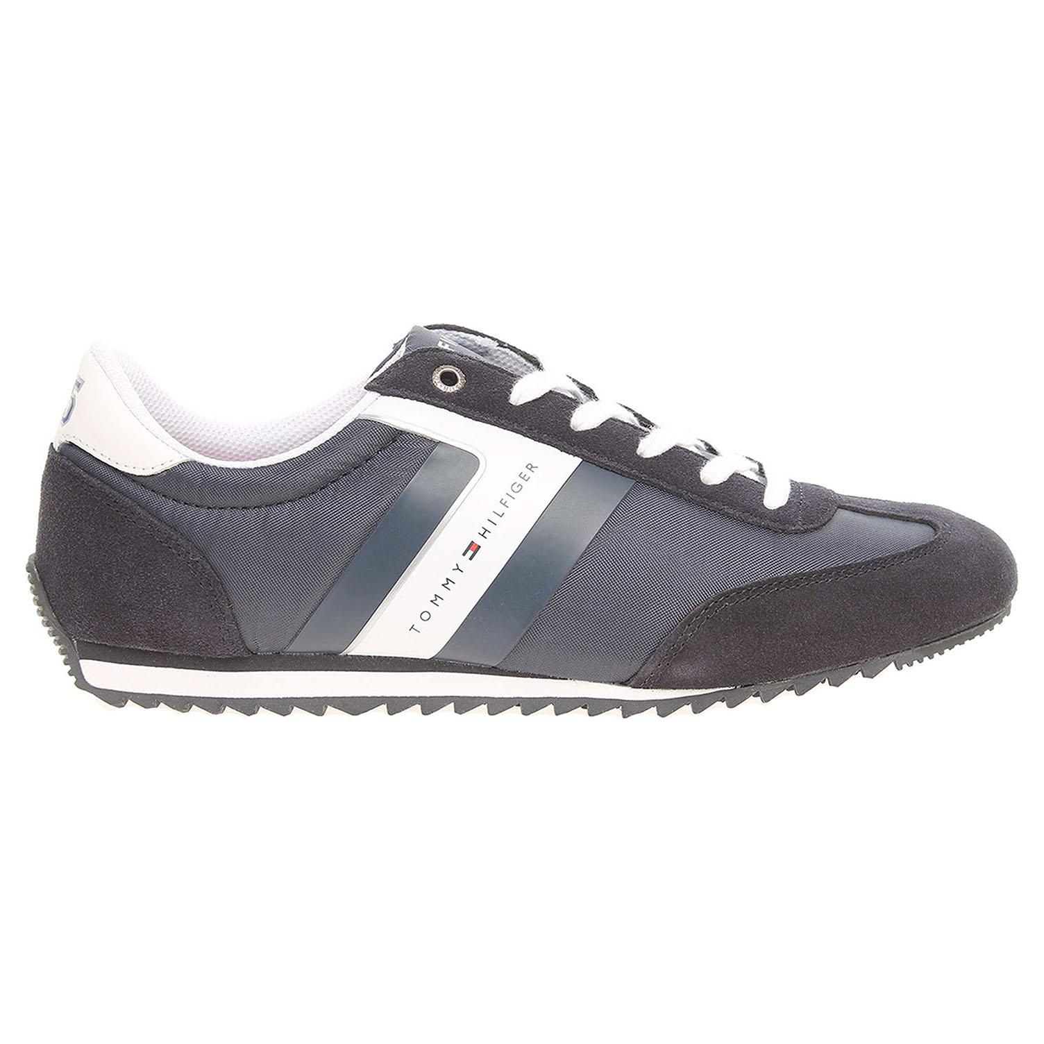 Ecco Tommy Hilfiger pánská obuv FM0FM00612 B2285RANSON 8C1 modrá 24000457