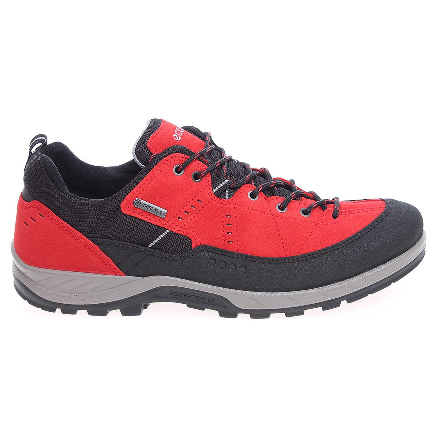 Ecco Ecco Yura pánská obuv 84060450857 červená 24200186