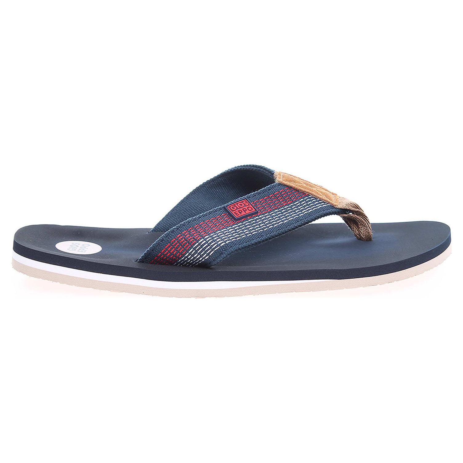 Gioseppo Stone pánské plážové pantofle modré 41