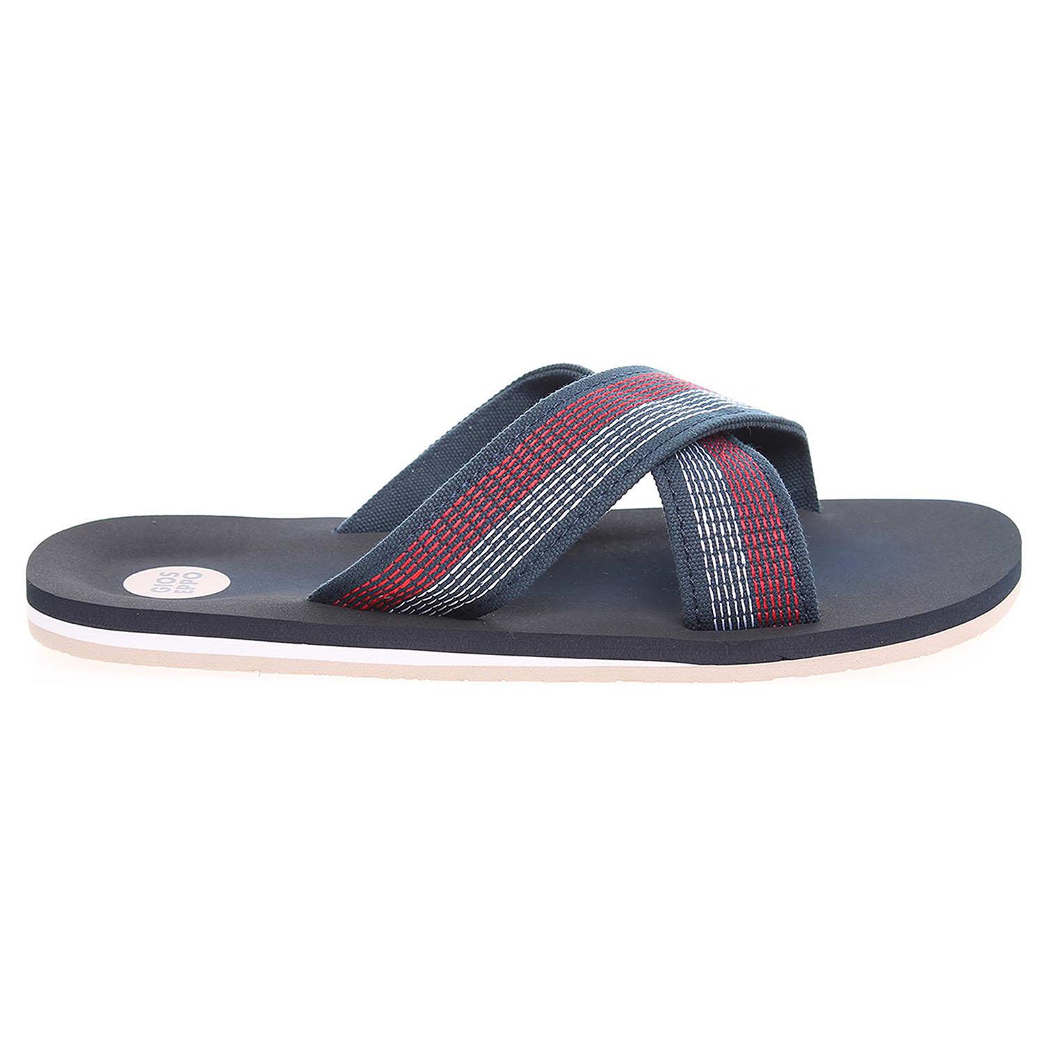 Gioseppo Evans pánské plážové pantofle modré 41
