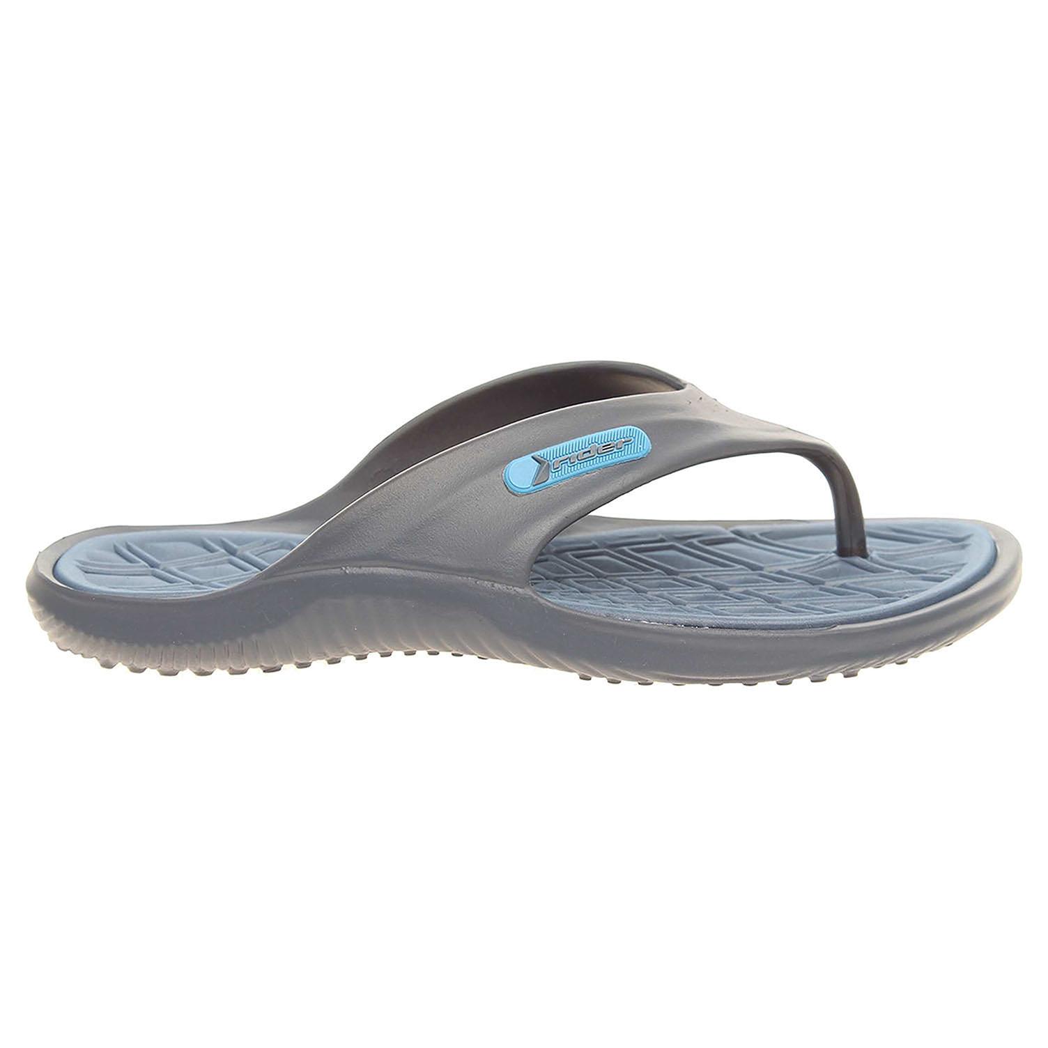 Ecco Rider pánské plážové pantofle 81900 24078 modré 24500130