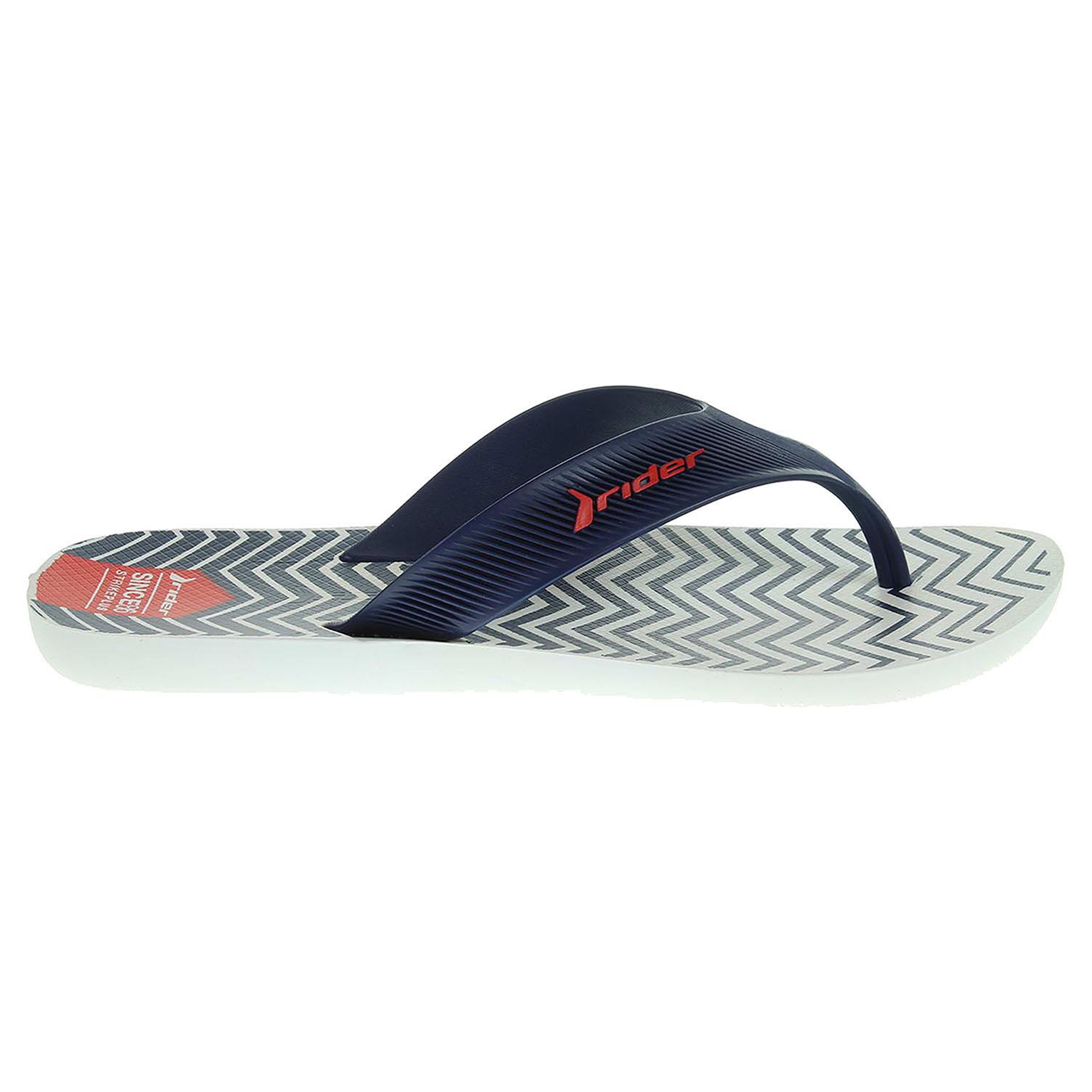 Ecco Rider pánské plážové pantofle 11073 21192 modré 24500134