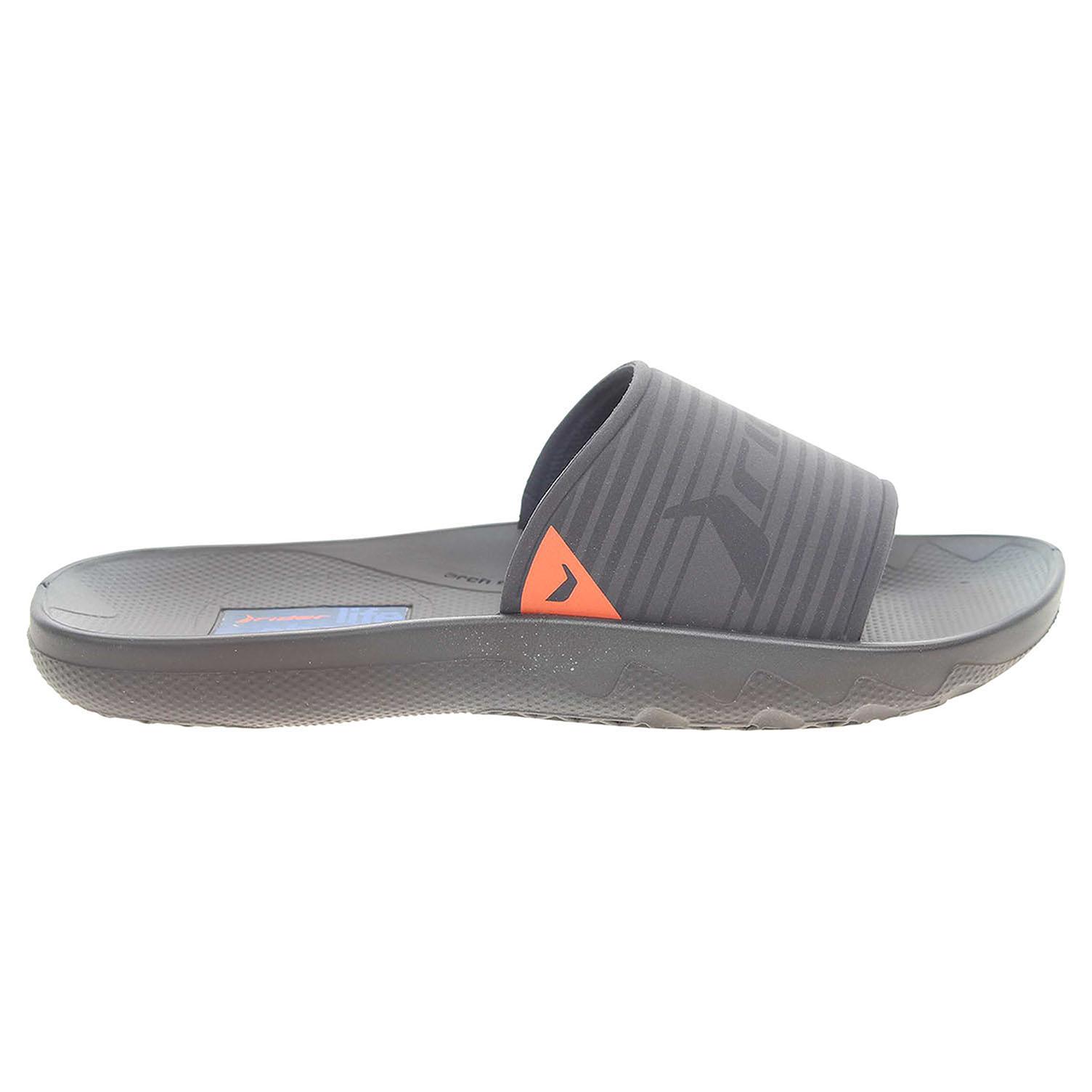Ecco Rider pánské plážové pantofle 82082 24398 modré 24500138