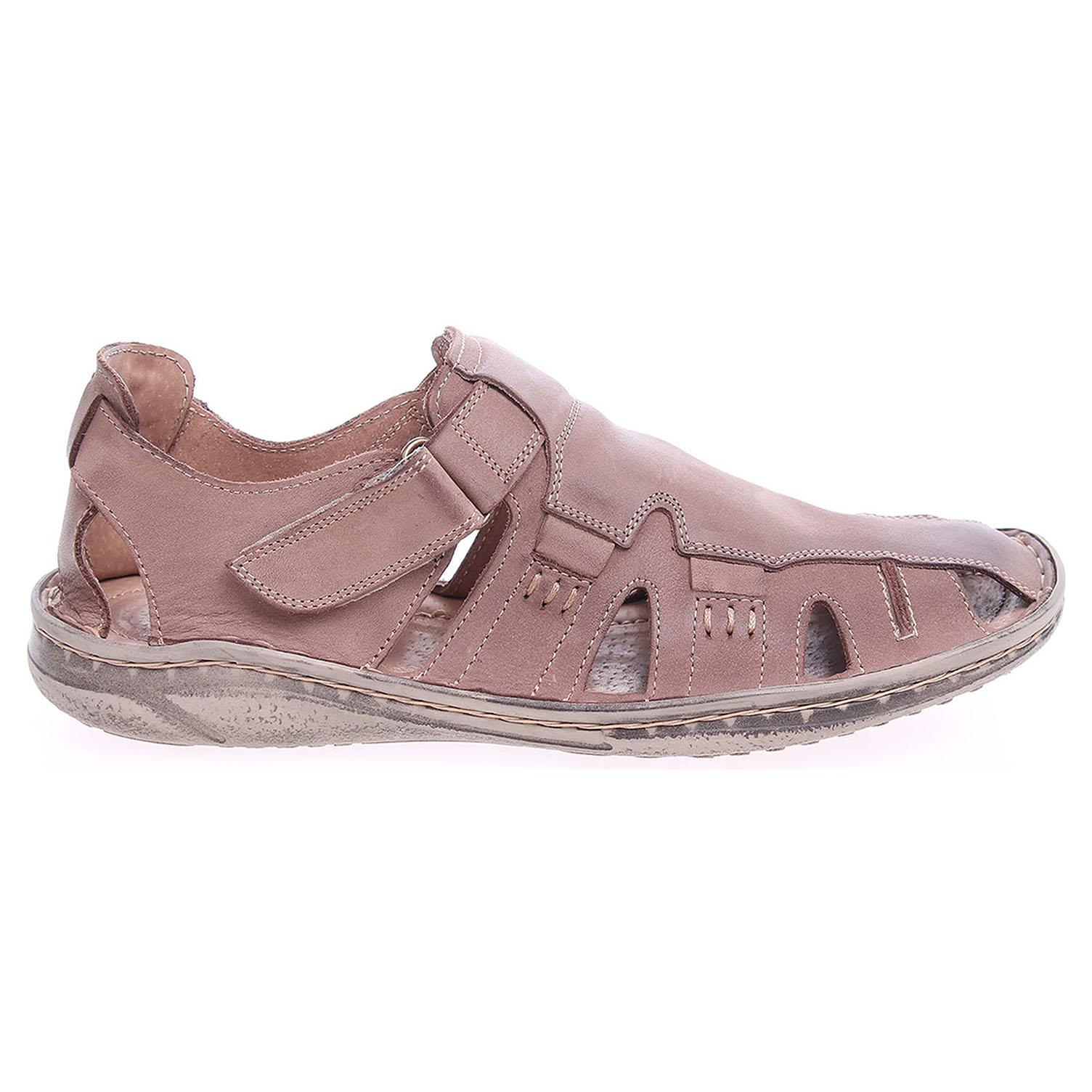 Ecco Pánské sandály EF216 MST hnědé 24700232
