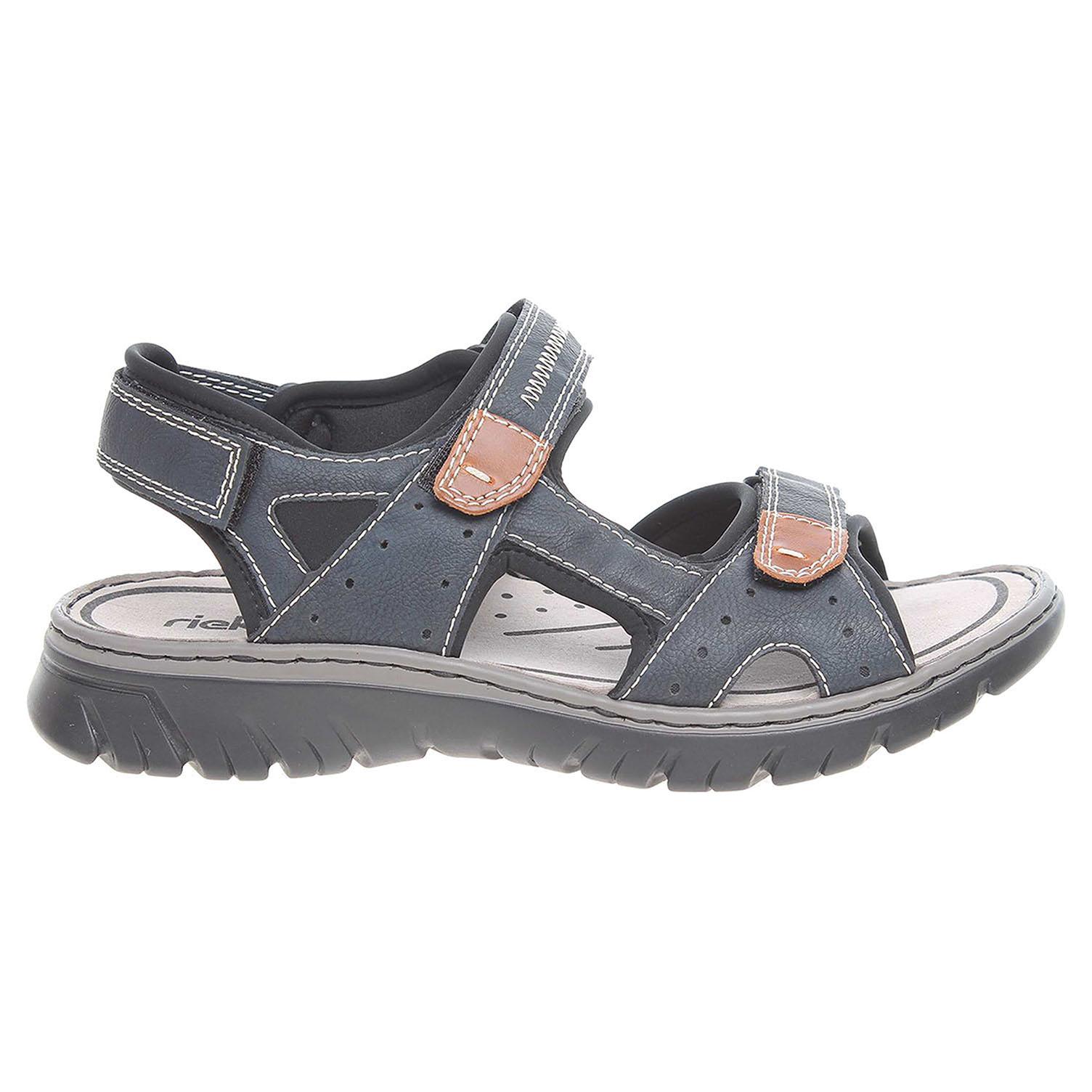 Rieker pánské sandály 26759-14 modré 40