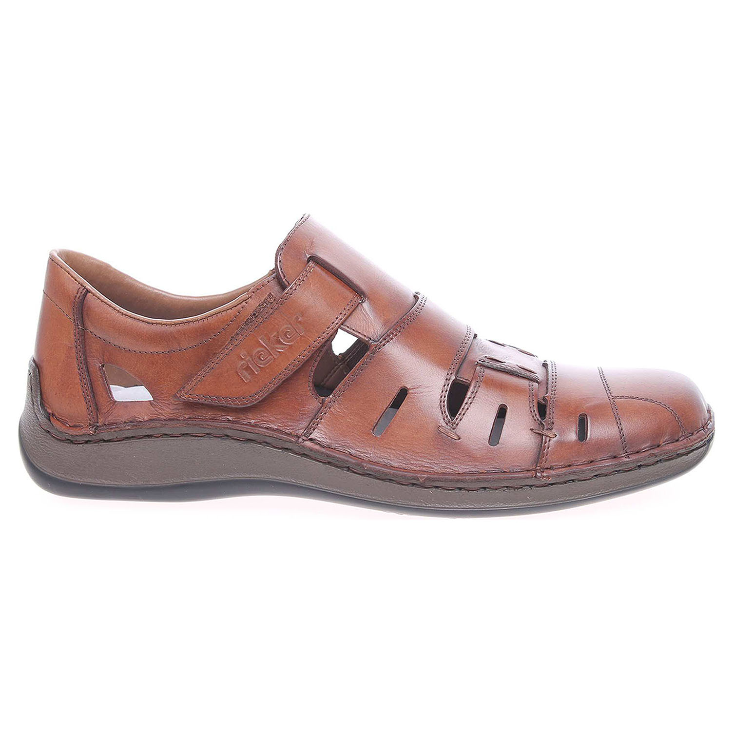 Rieker pánské sandály 05257-25 hnědé 46