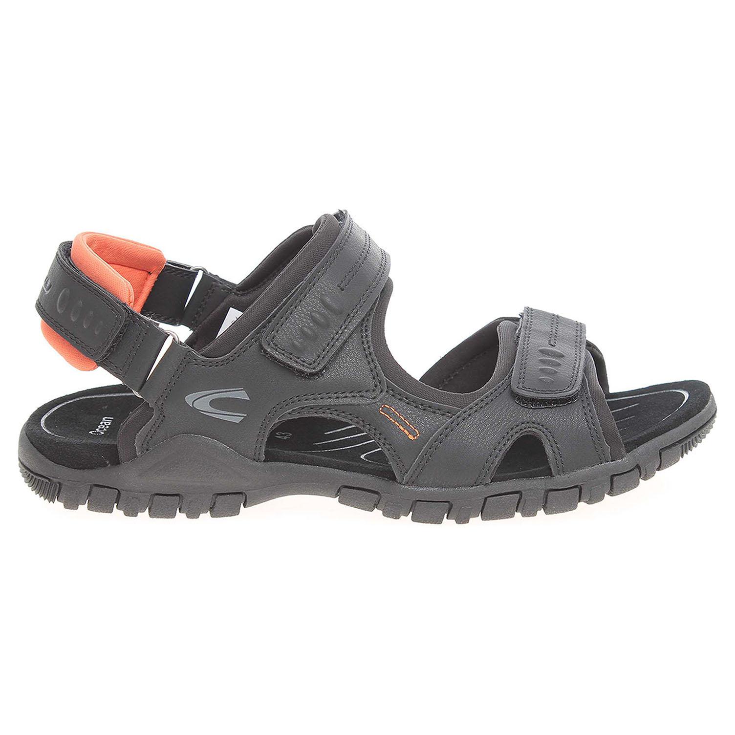 Ecco Camel Active pánské sandály 422.11.06 černé 24700240