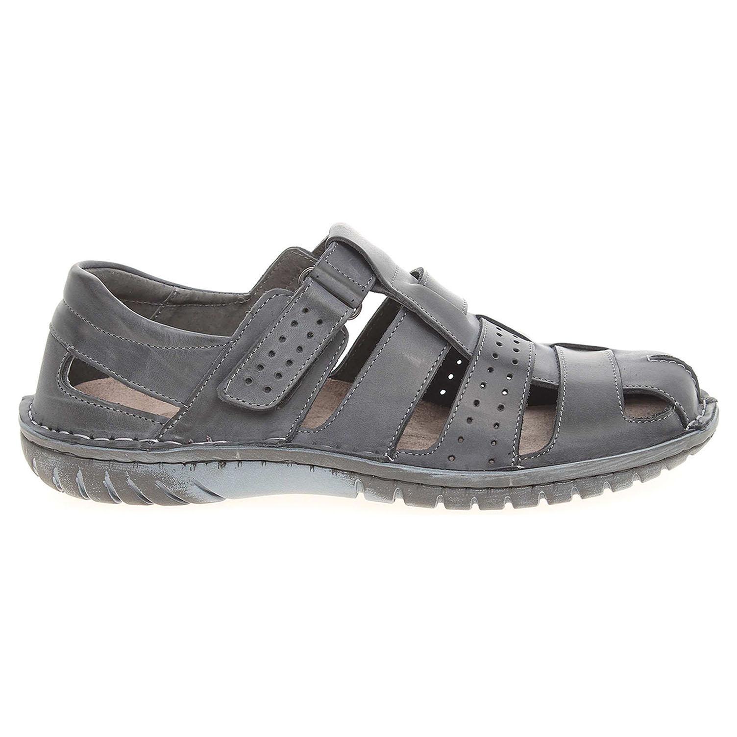Ecco Pánské sandály EF 236 modré 24700252