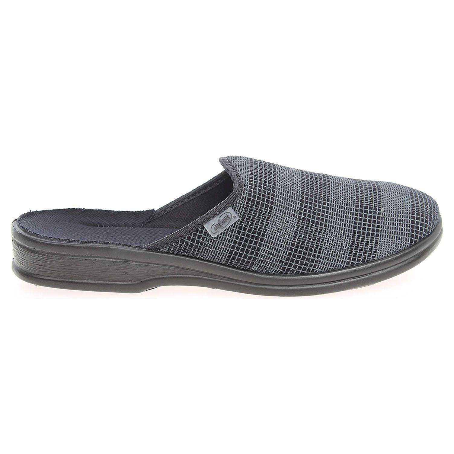 Befado domácí pantofle 089M202 šedé 41