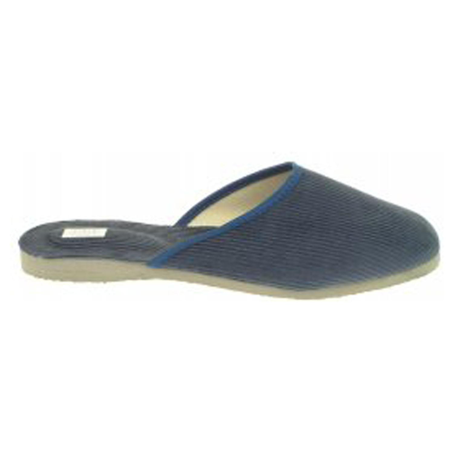 Pánské domácí pantofle 1009.00 modré 45