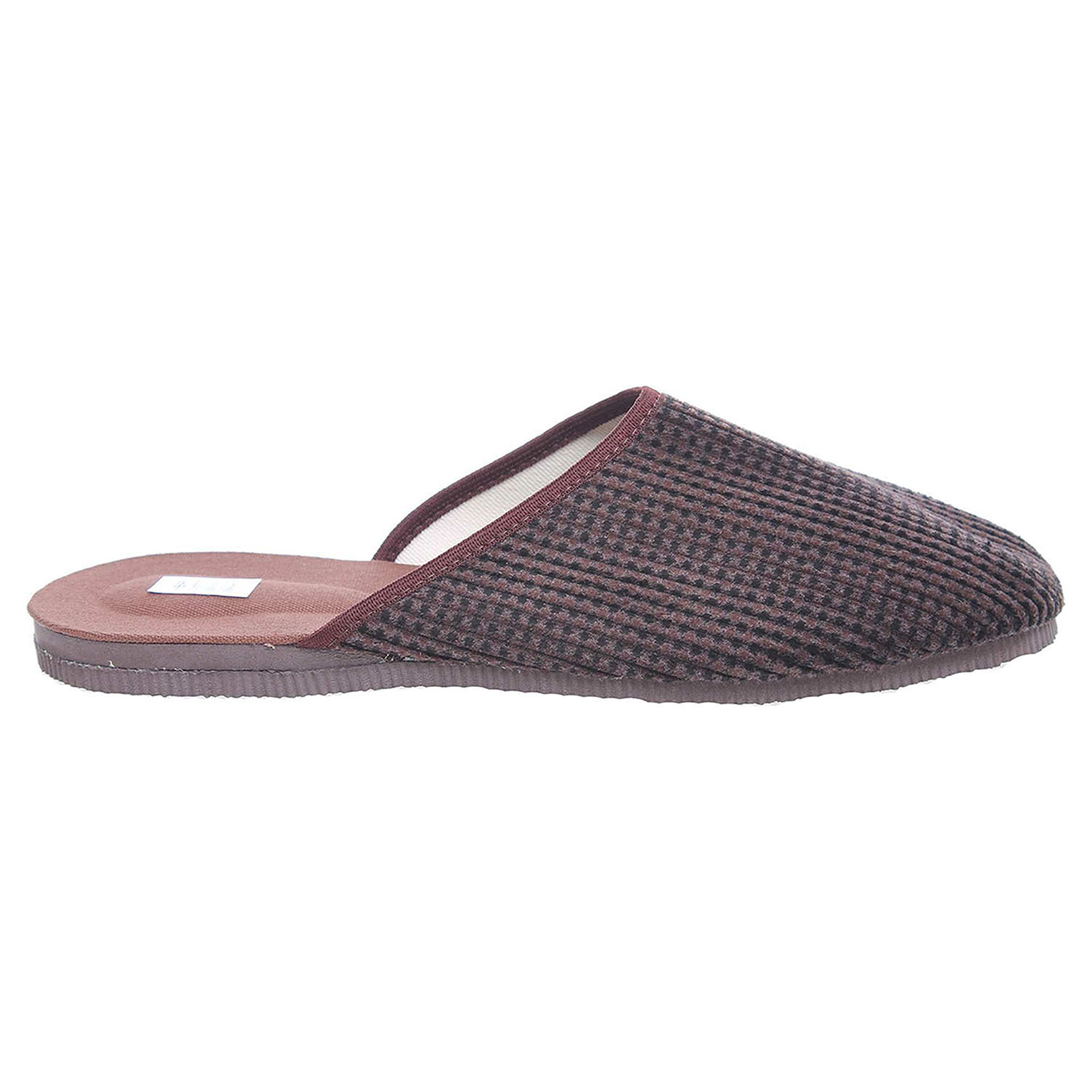 Pánské domácí pantofle 1009.00 hnědá-černá 45