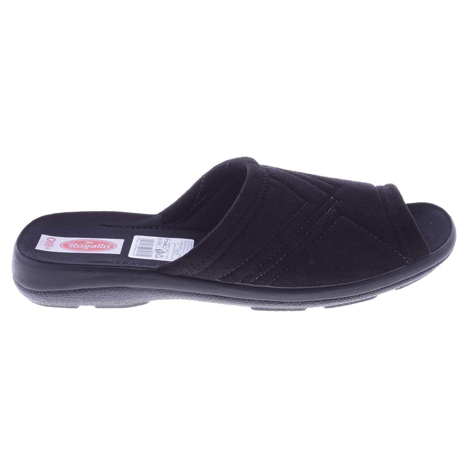 Ecco Rogallo pánské pantofle 18476 černé 24800171