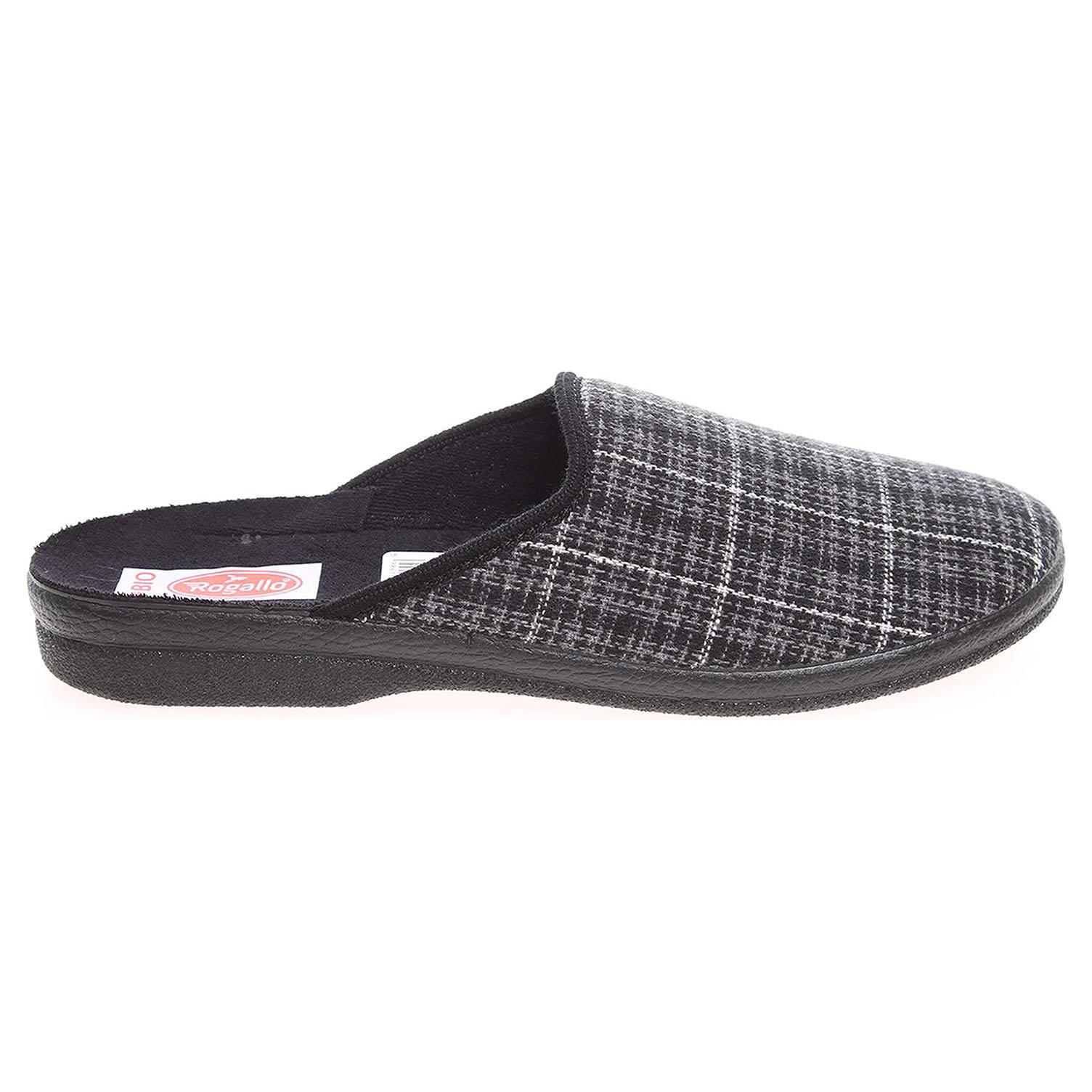 Rogallo domácí pánské pantofle 19549 šedé 41
