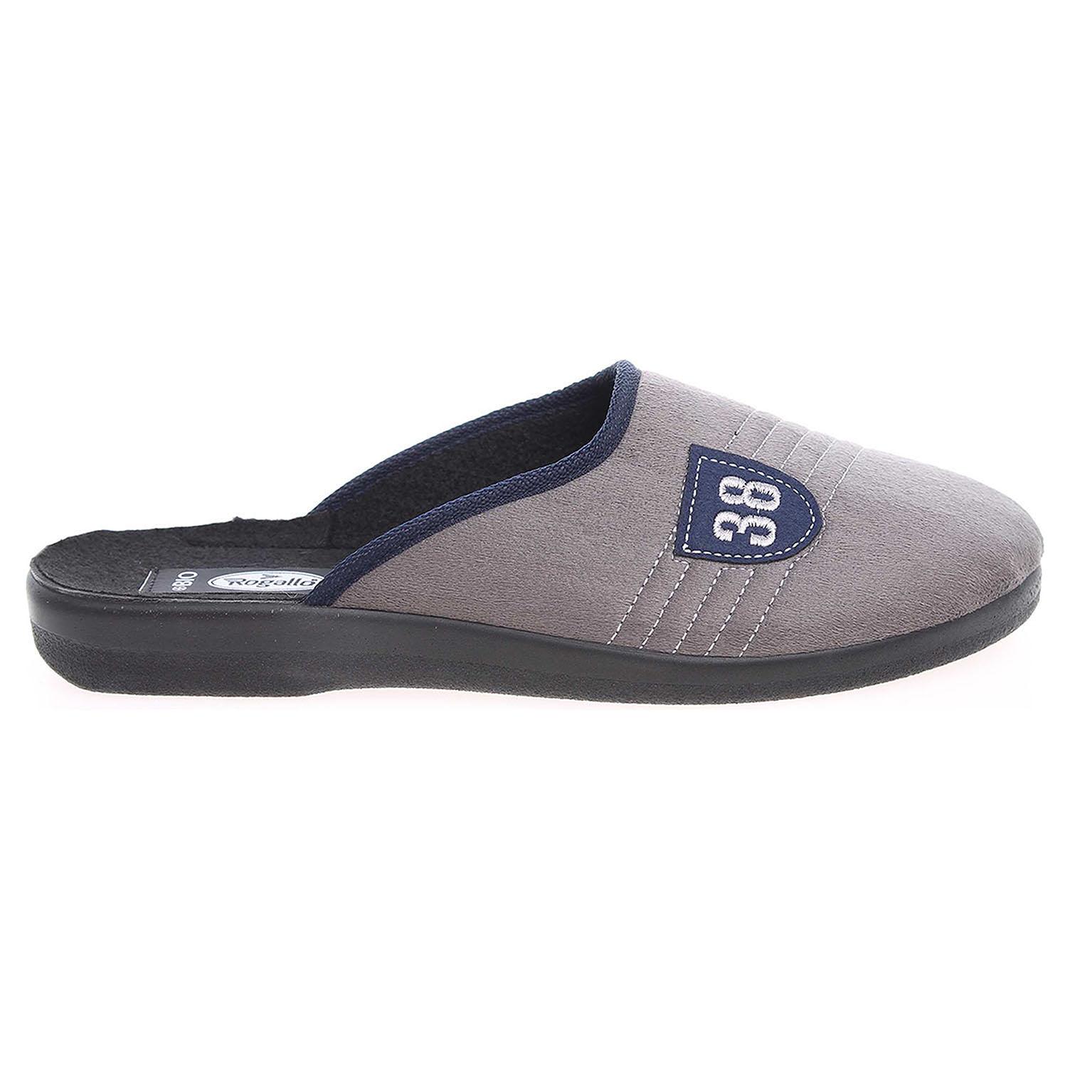 Rogallo domácí pantofle 4100-012 šedé 42