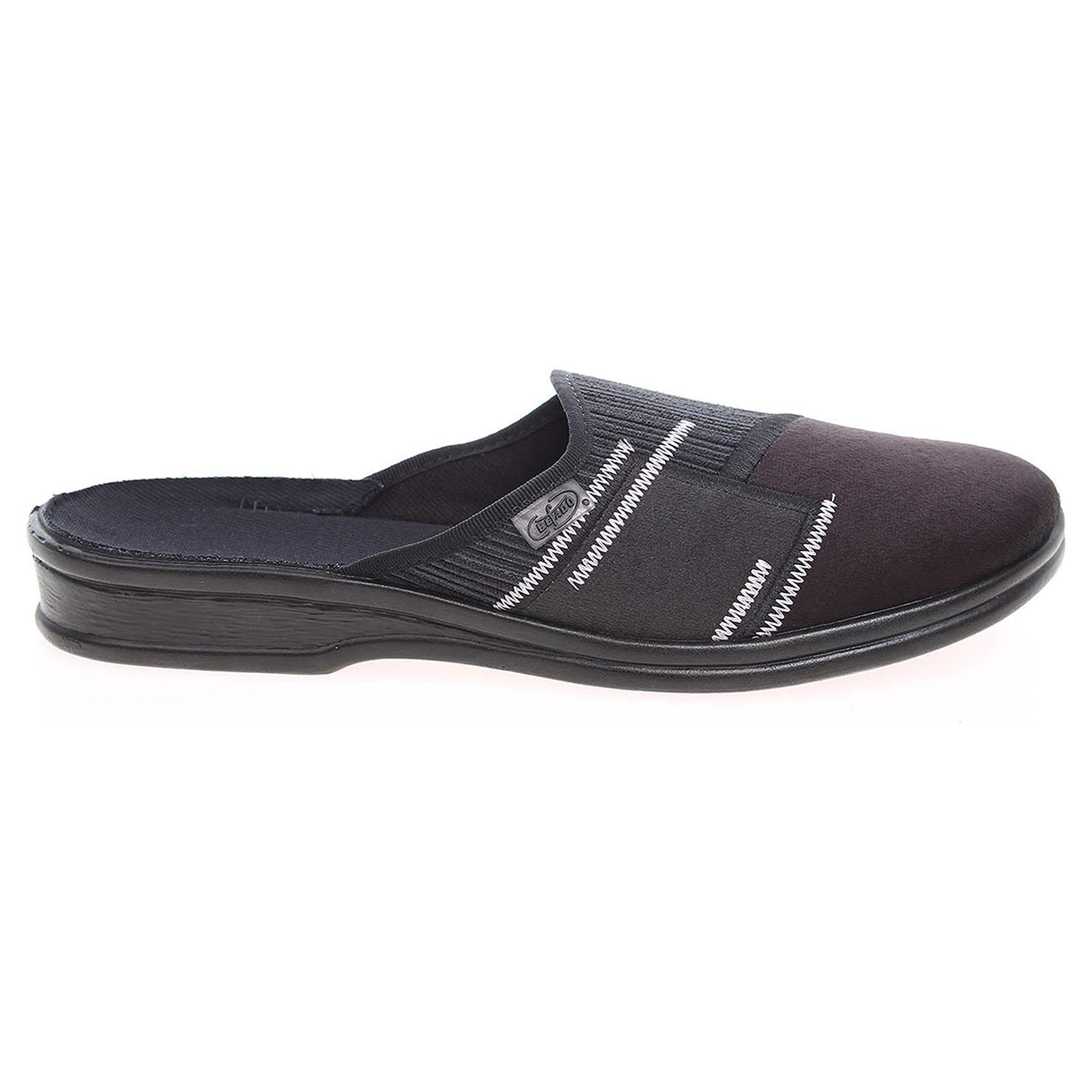 Befado pánské domácí pantofle 953M023 černé 44