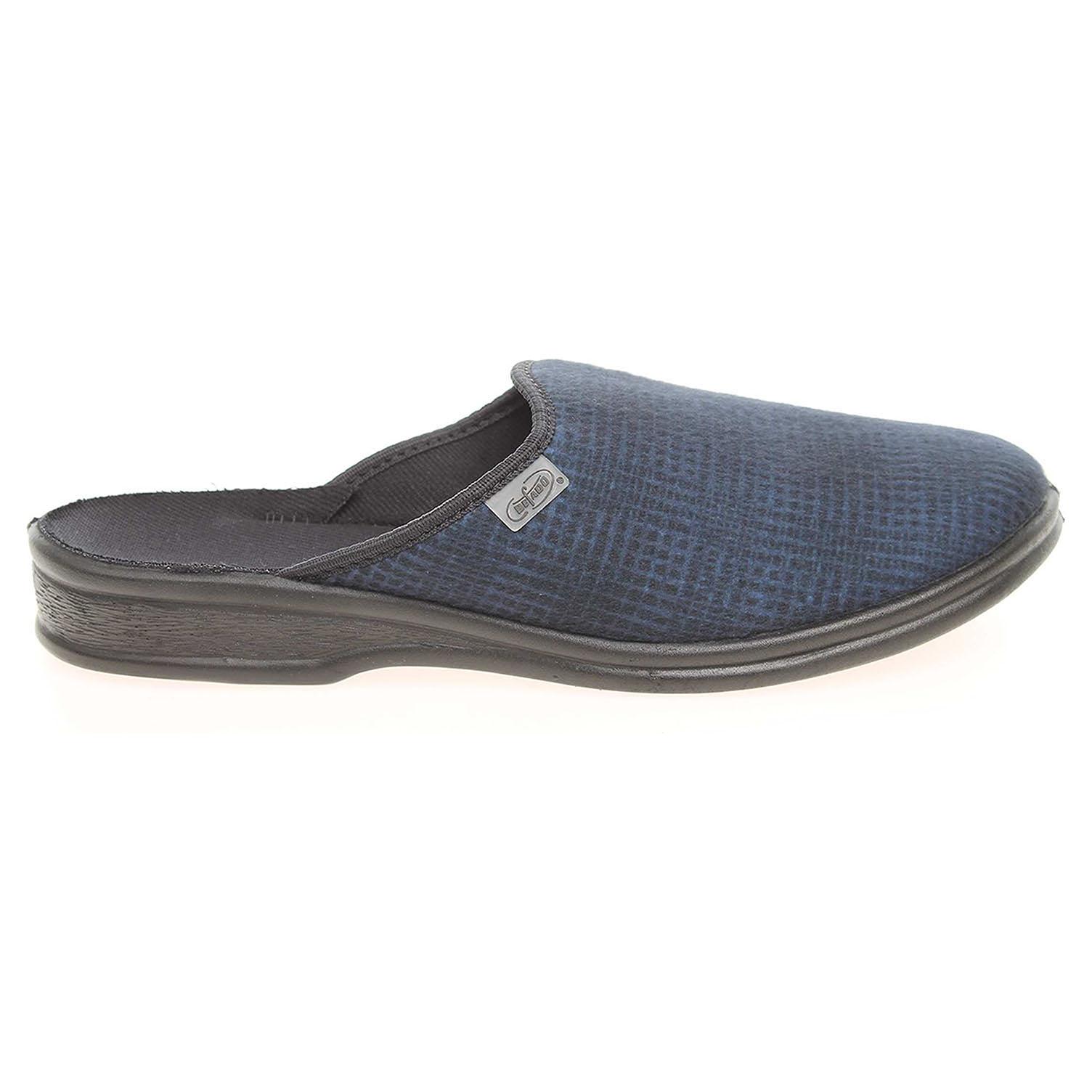 Ecco Befado pánské pantofle 089M166 modré 24800213