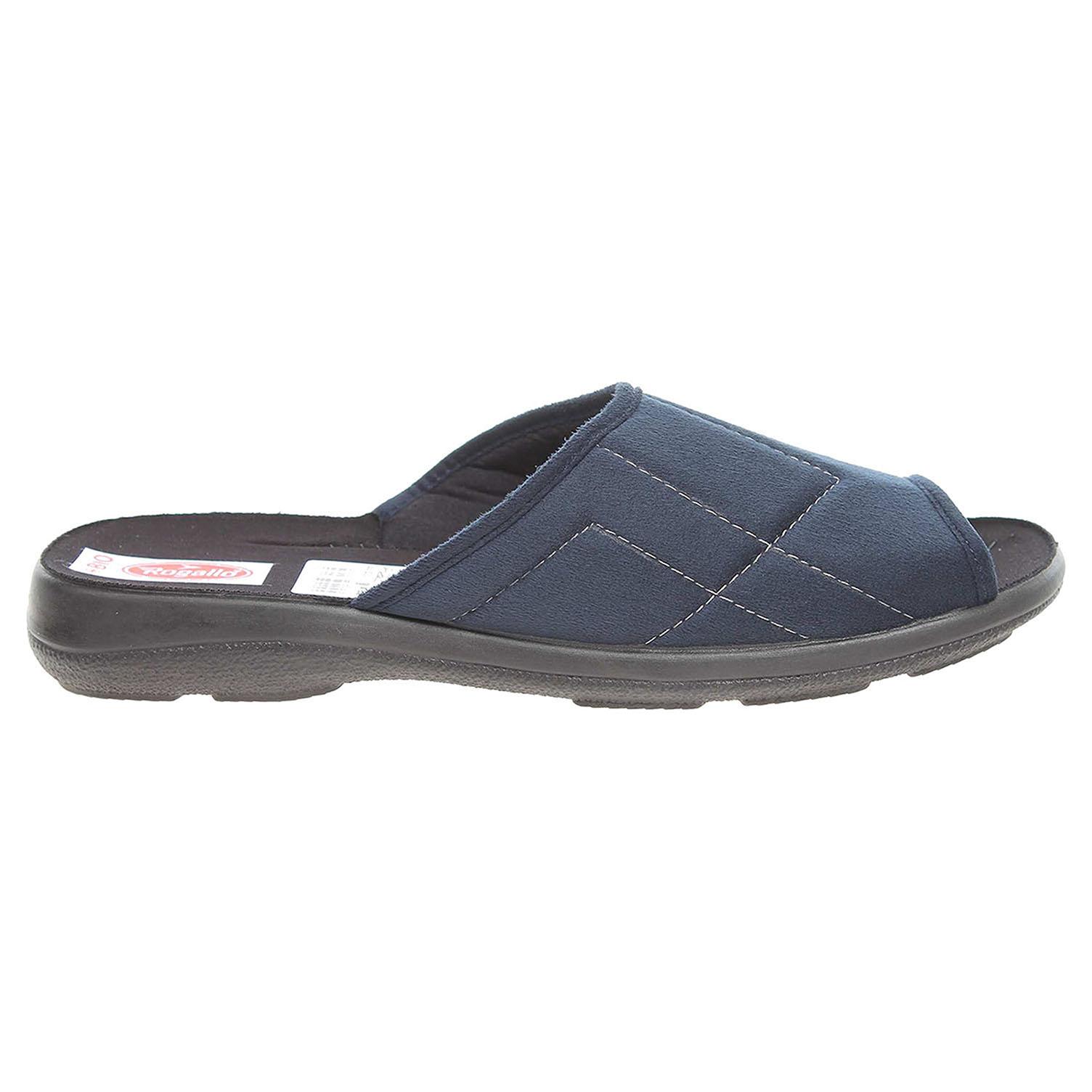 Ecco Rogallo pánské pantofle 21110 modré 24800218