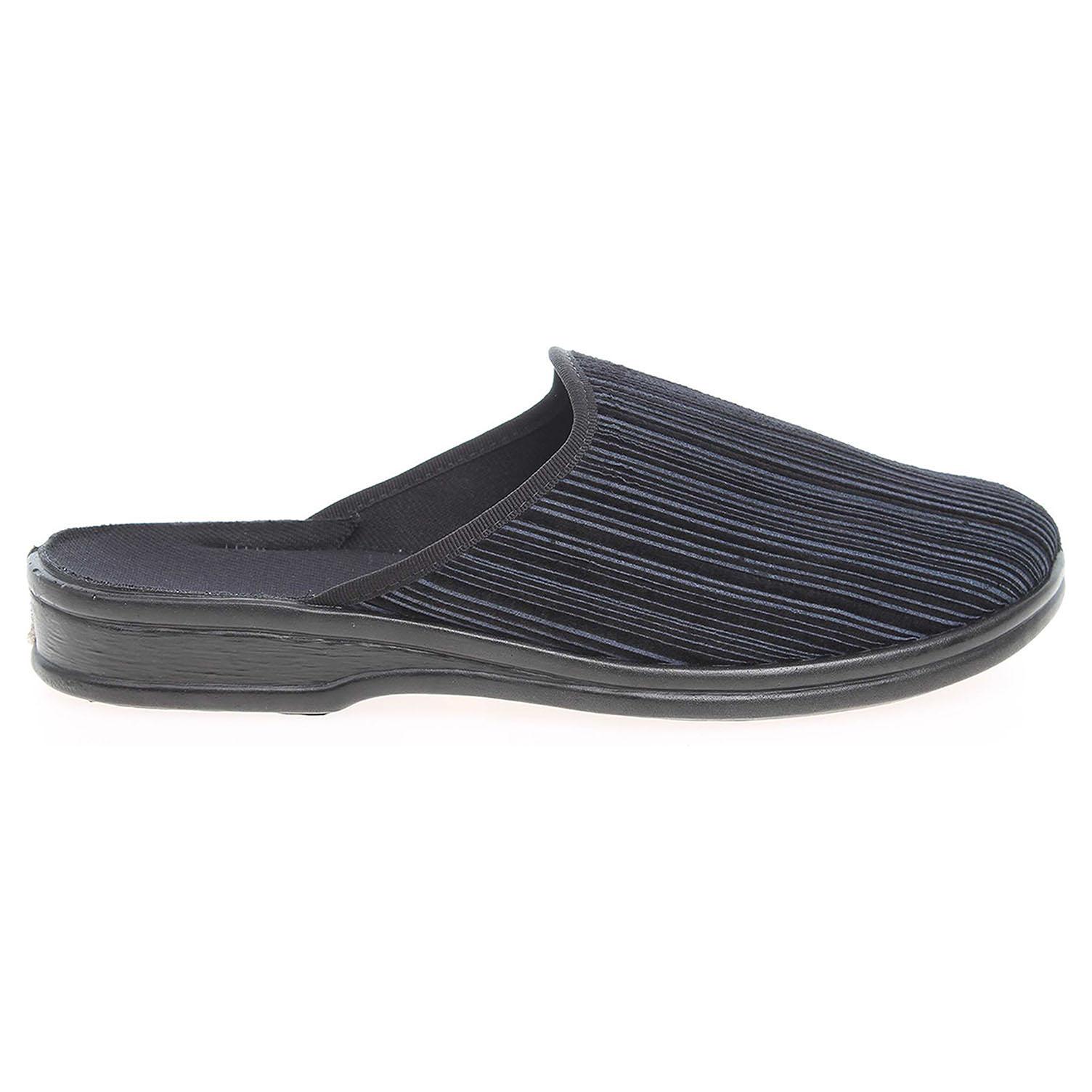 Befado pánské domácí pantofle 089M395 modré 41