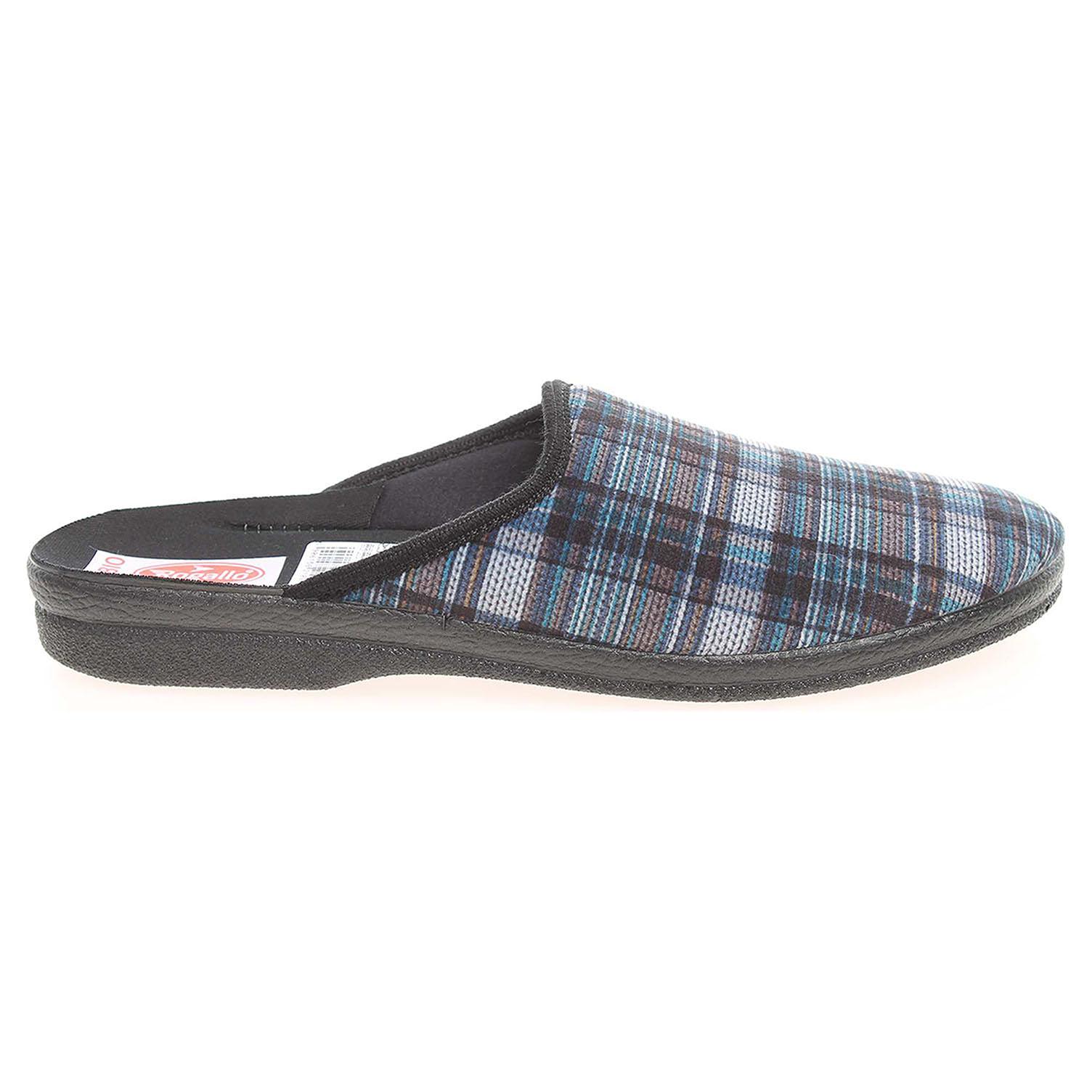 Rogallo pánské domácí pantofle 21091 modré 42