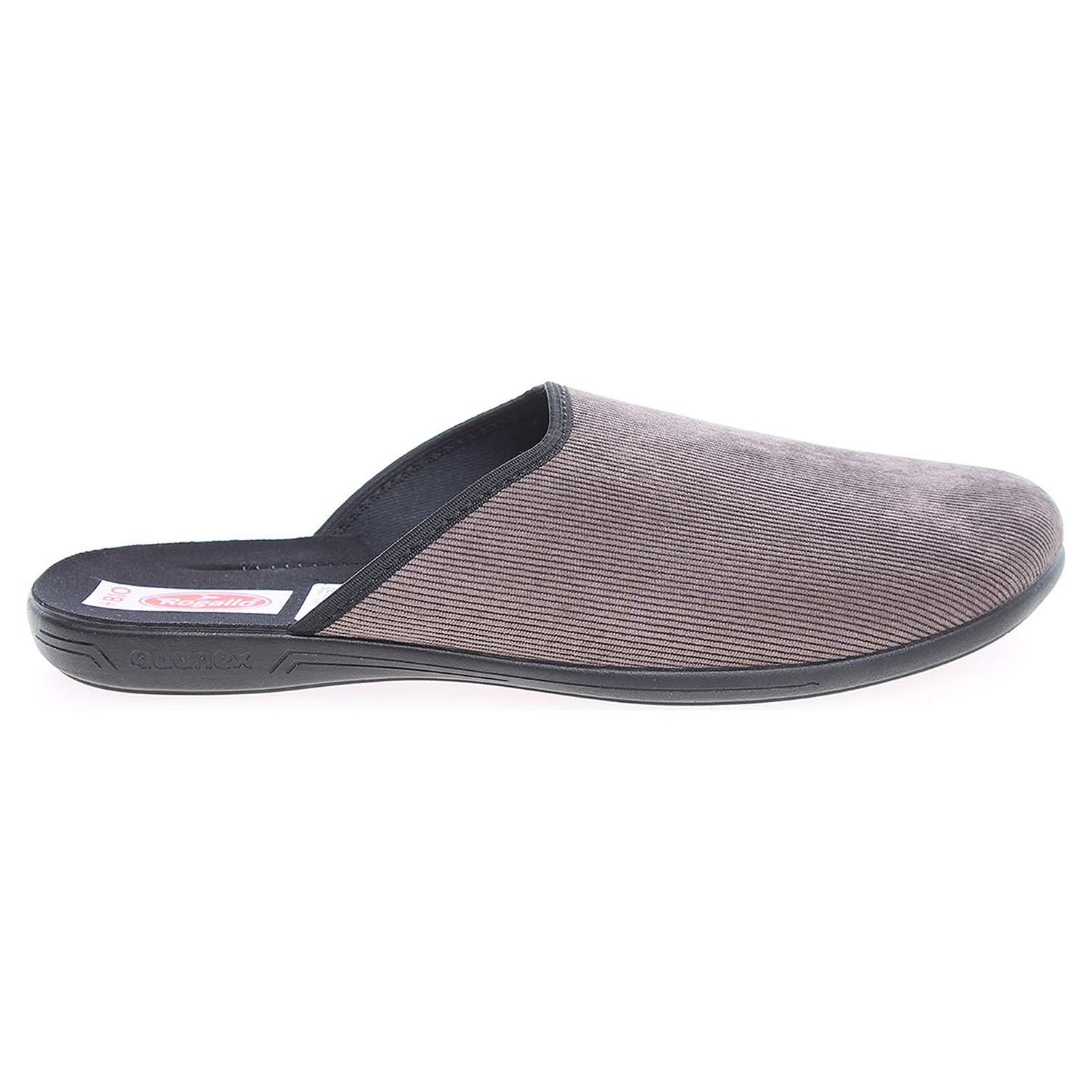 Rogallo domácí pantofle 21117 hnědé 41