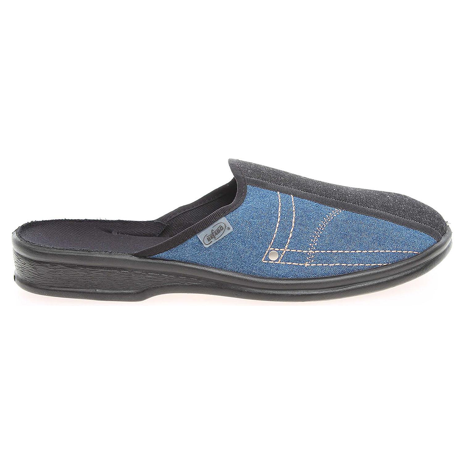 Befado pánské domácí pantofle 093M035 modré 42