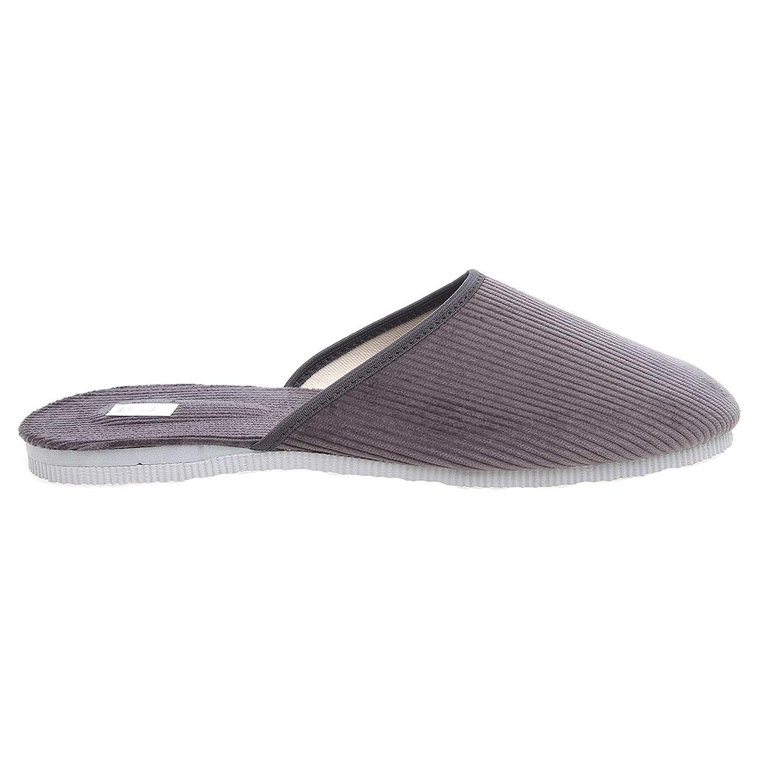 Ecco Pánské domácí pantofle 1009.00 šedé 24800243