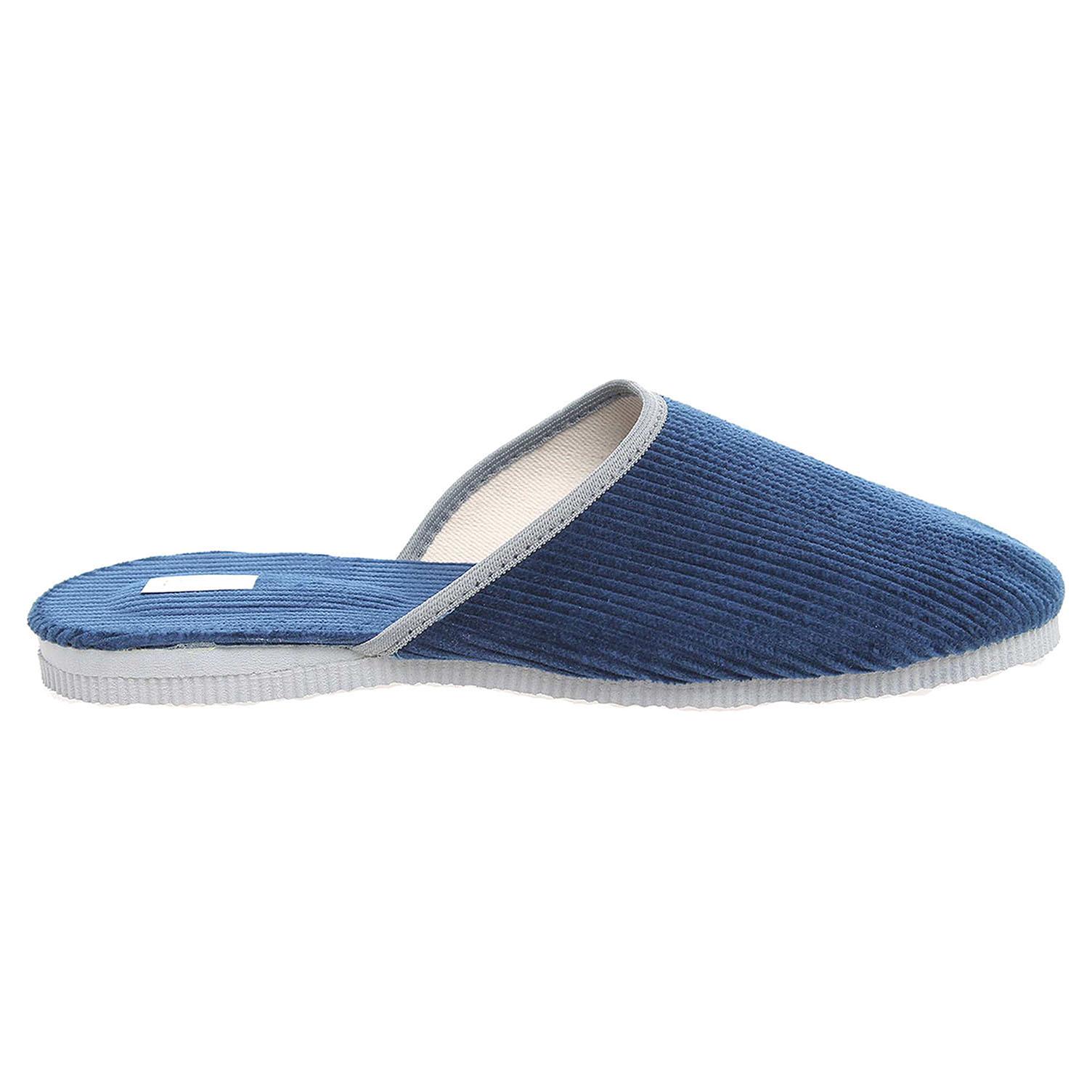 Ecco Pánské domácí pantofle 1009.00 modré 24800244
