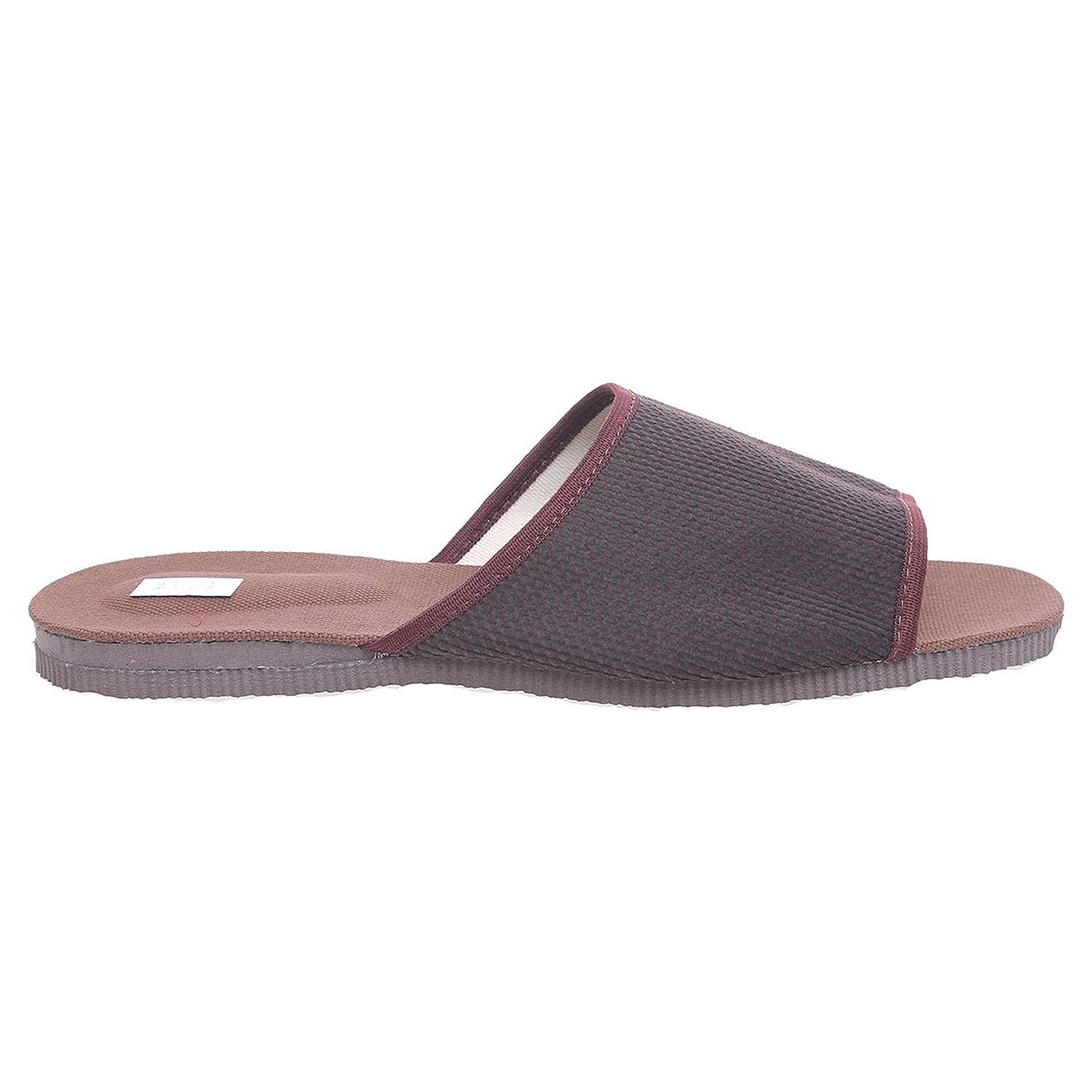 Ecco Pánské domácí pantofle 3009.00 hnědé 24800245