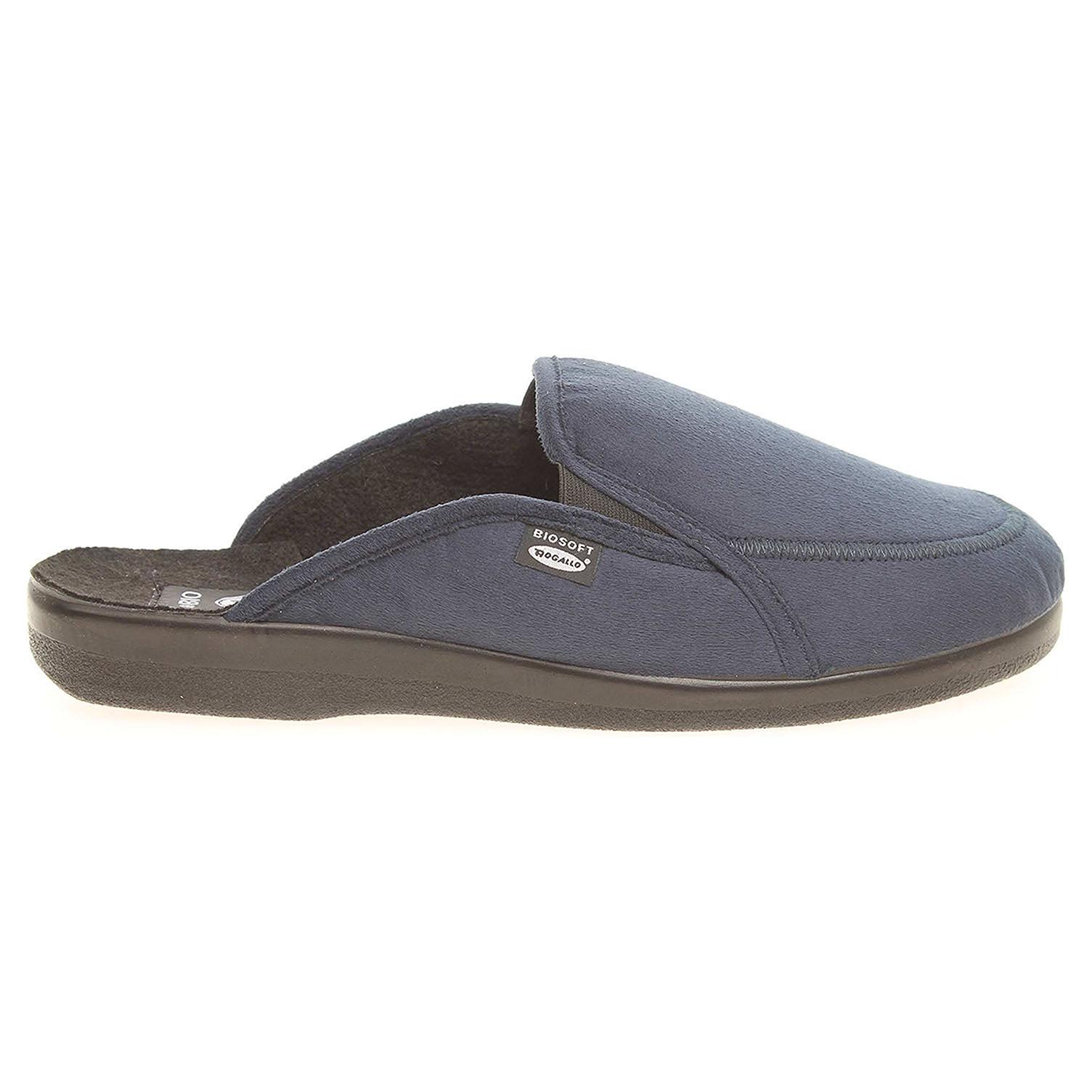 Ecco Rogallo pánské domácí pantofle 4120-010 modré 24800260