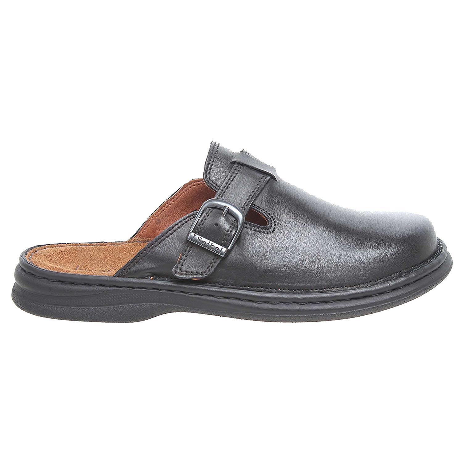 Josef Seibel pánské pantofle 10122 37600 černé 42