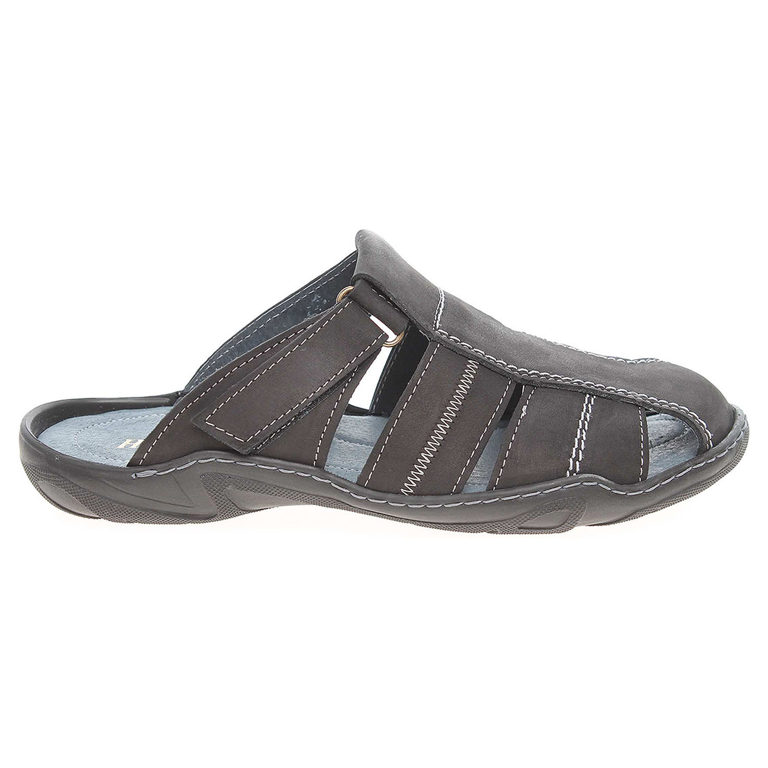Ecco Pánské pantofle F0255 černé 24900150