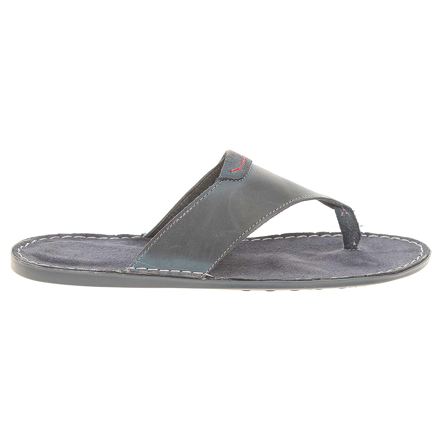 Ecco Pánské pantofle F 0376 modré 24900157
