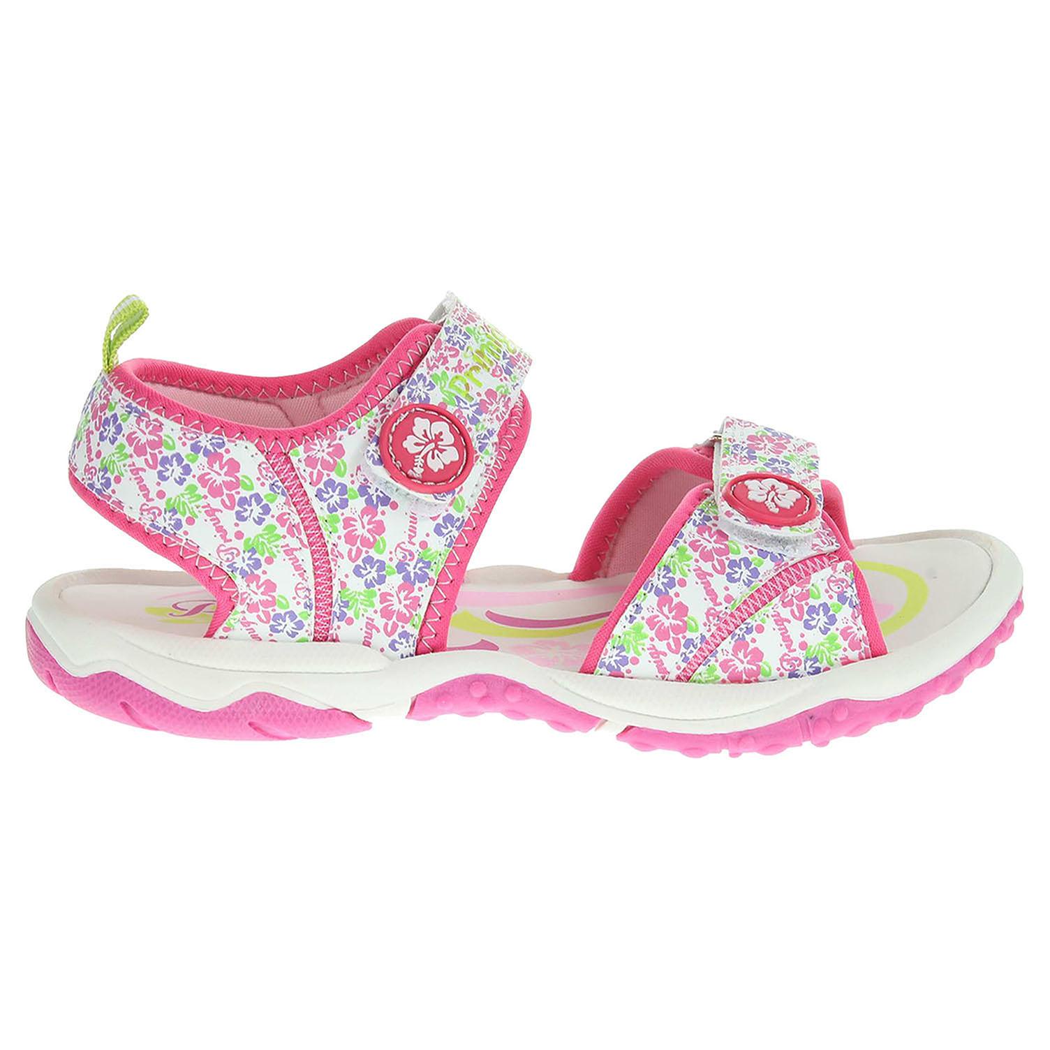 Ecco Primigi Beach Sand 5312200 dívčí sandály růžové 26100100