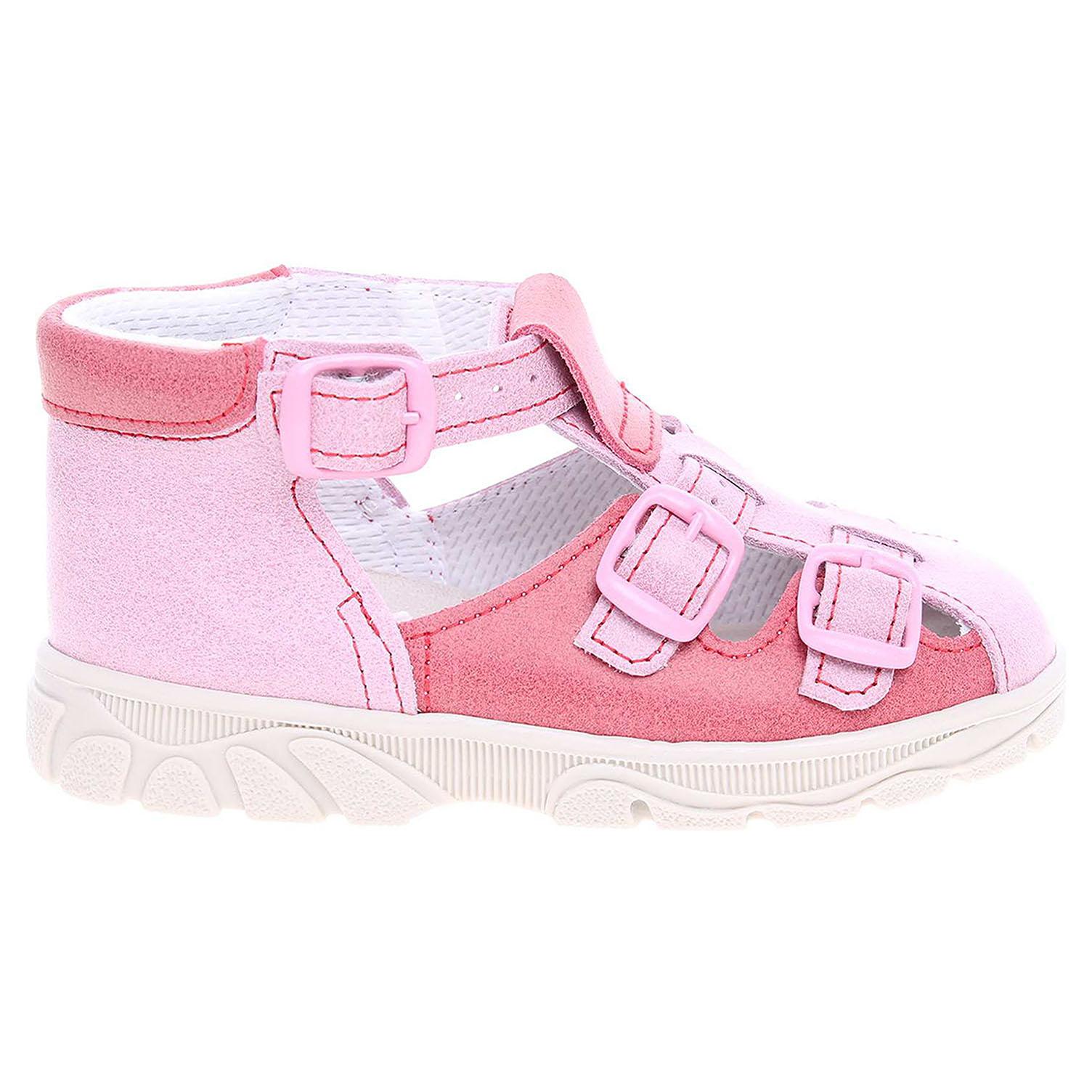 Ecco Dívčí sandály JV0005a-008 růžové 26100104